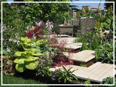 SHOW GARDEN | Silver at Hampton - In At The Deep End - 2014 -