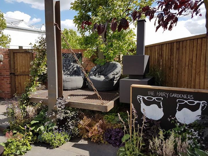 Our Show garden at Gardeners World Live 2017 - 'It's Not Just About The Beards'