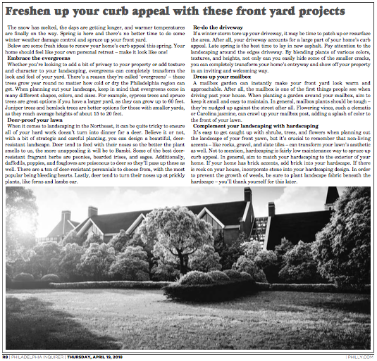 Philadelphia Inquirer_Freshen up your curb appeal with these front yard projects.png