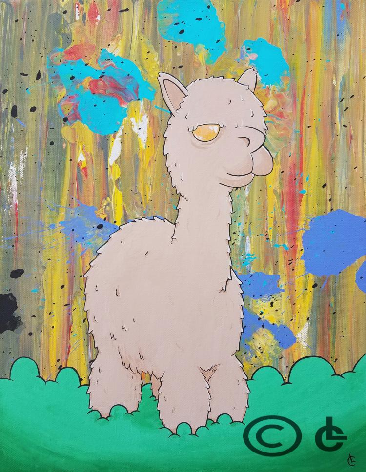 Fluffy Alpaca wm.jpg