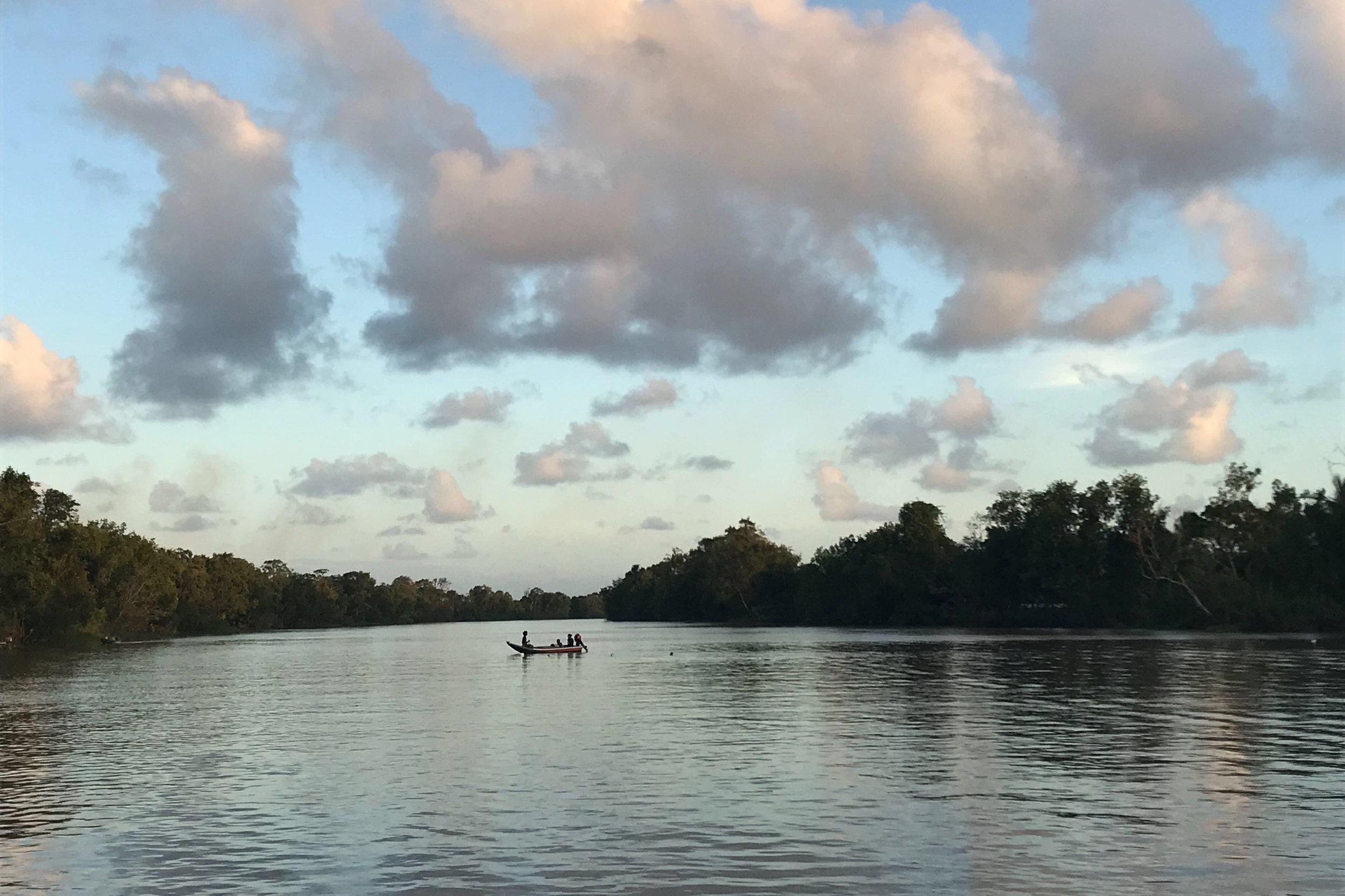 Pomeroon River Guyana