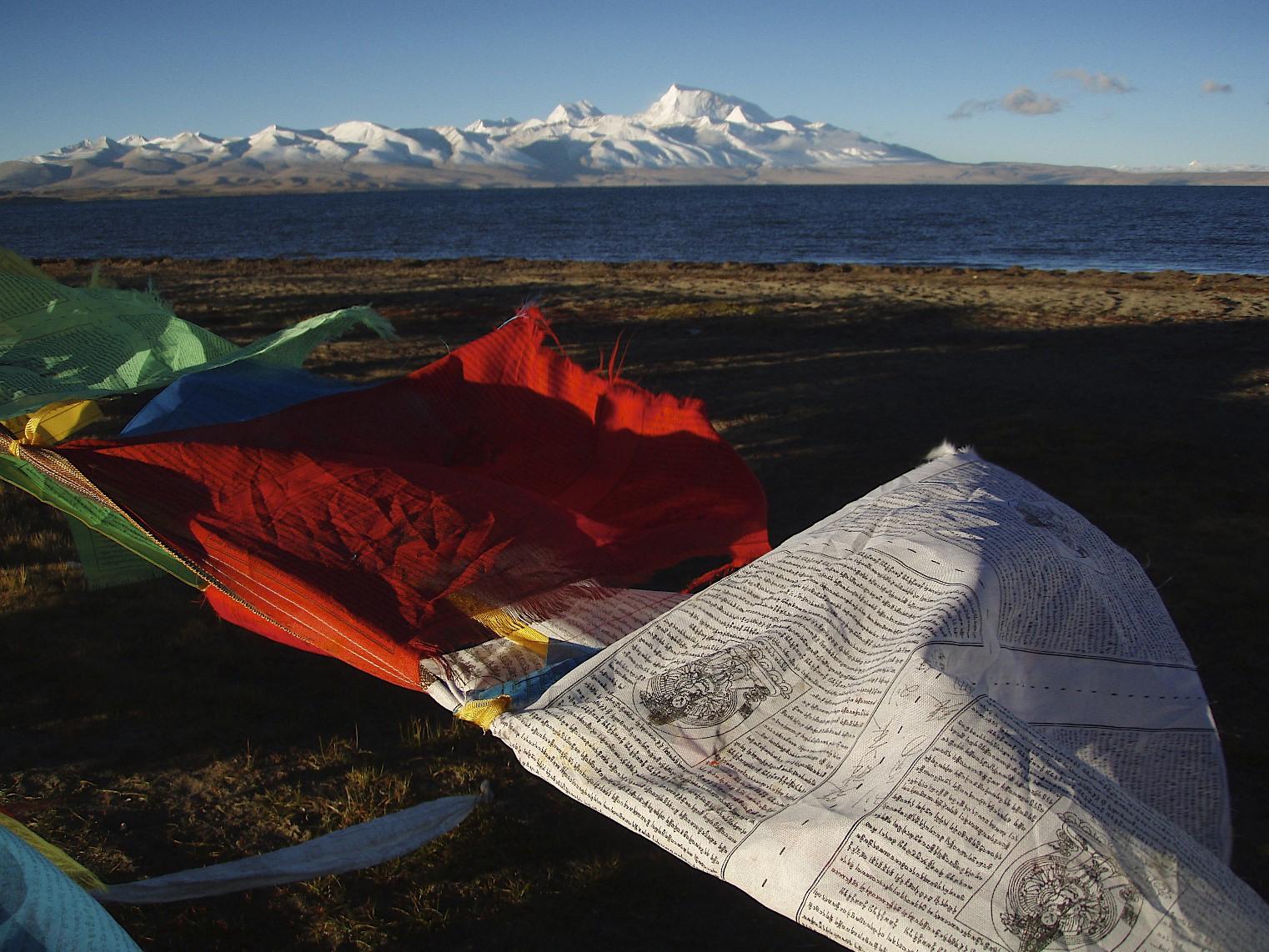 Lake Manasarovar and Mt. Gurla Mandata