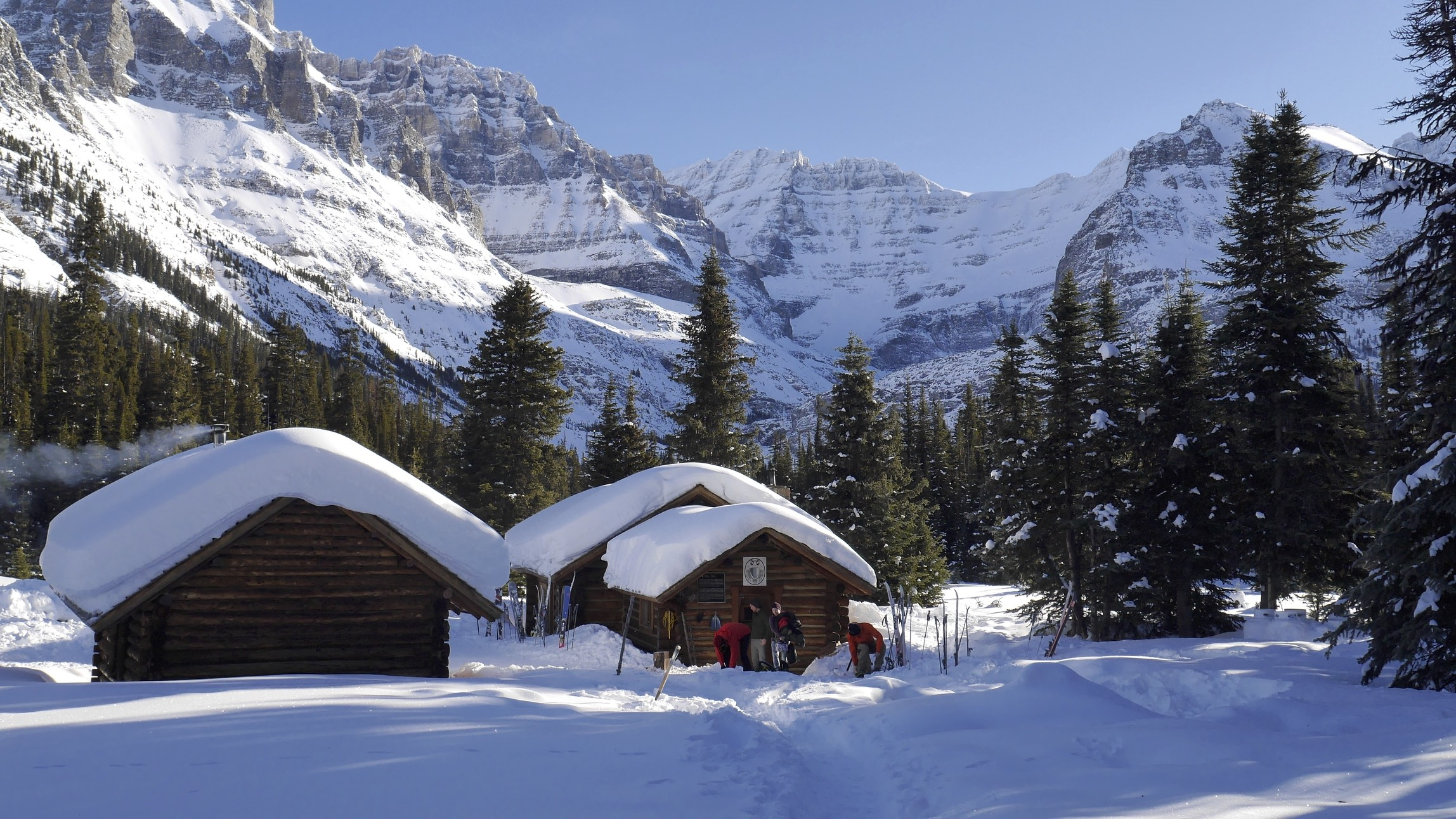 Elizabeth Parker Hut at Lake O'Hara