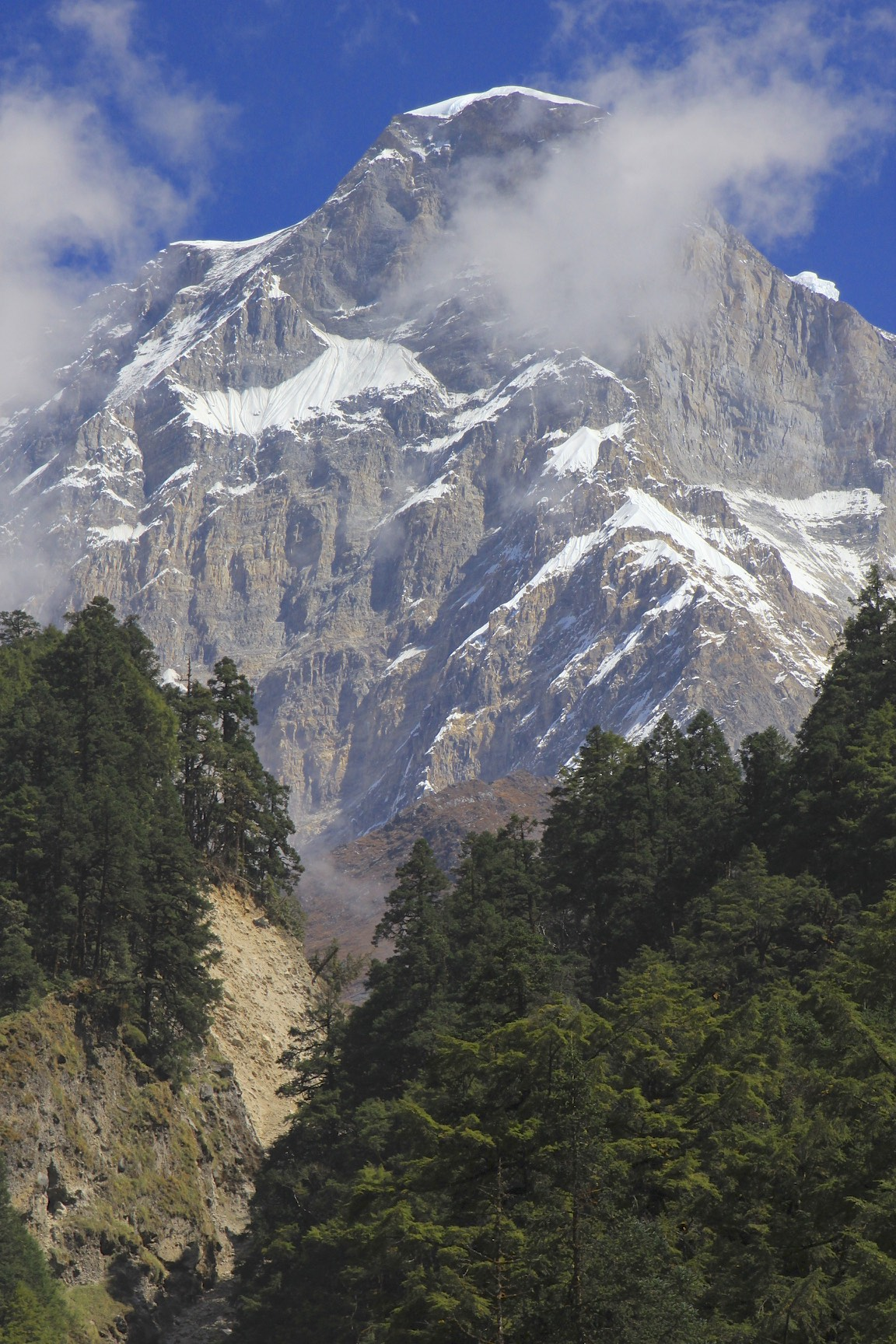 South-west face of Dhaulagiri I