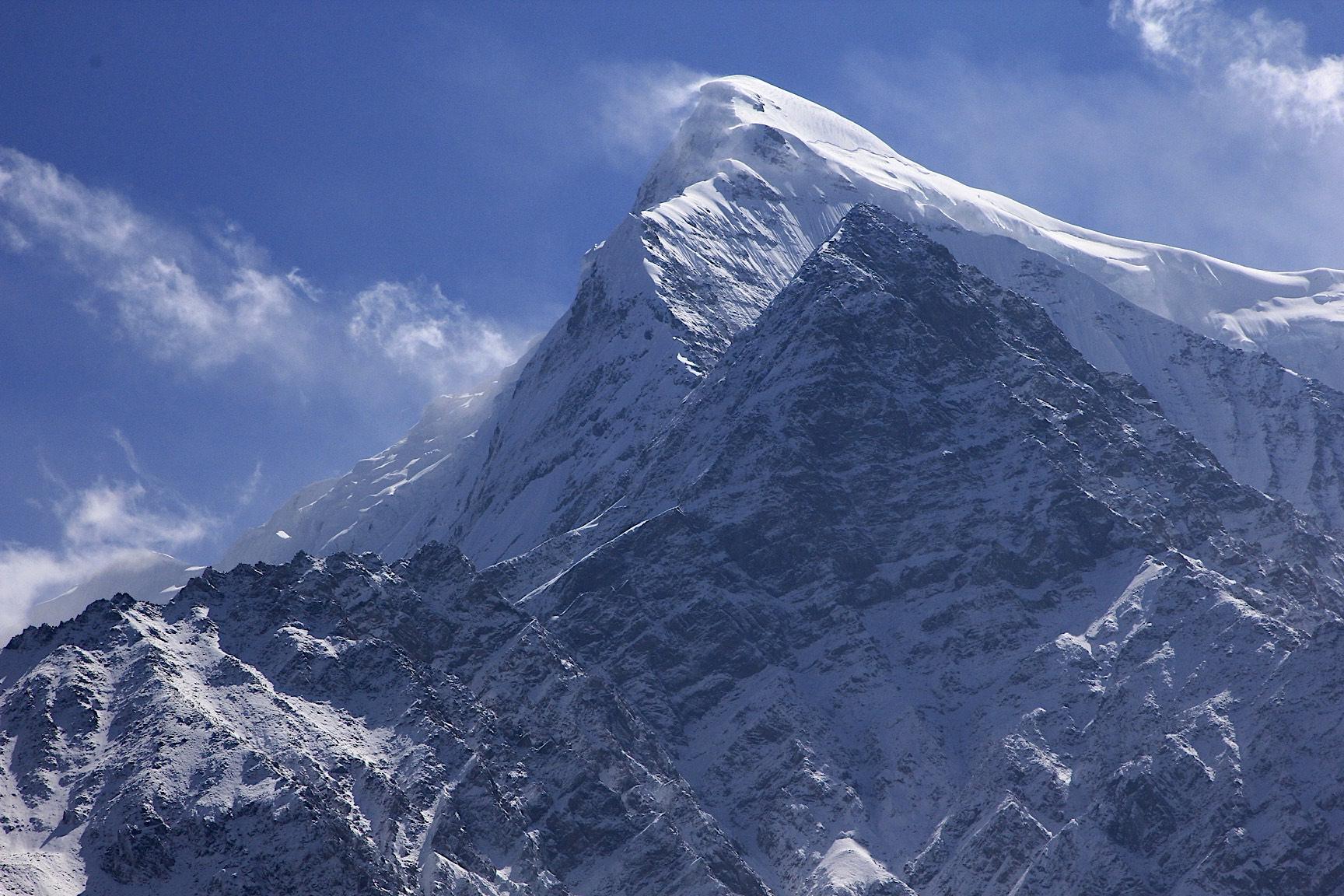 Nilgiri Peak - part of the Annapurna massif