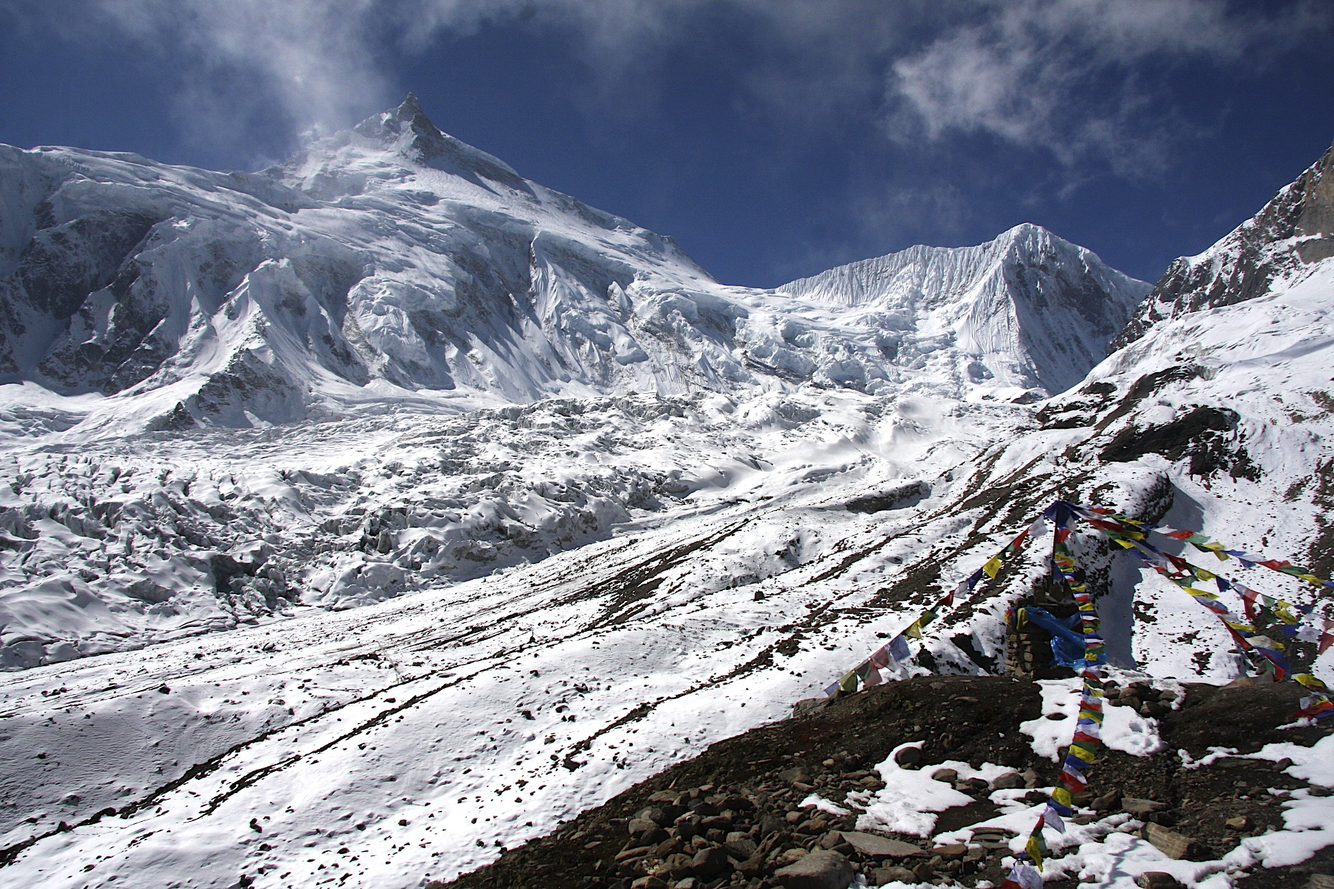 Manaslu and Manaslu Basecamp