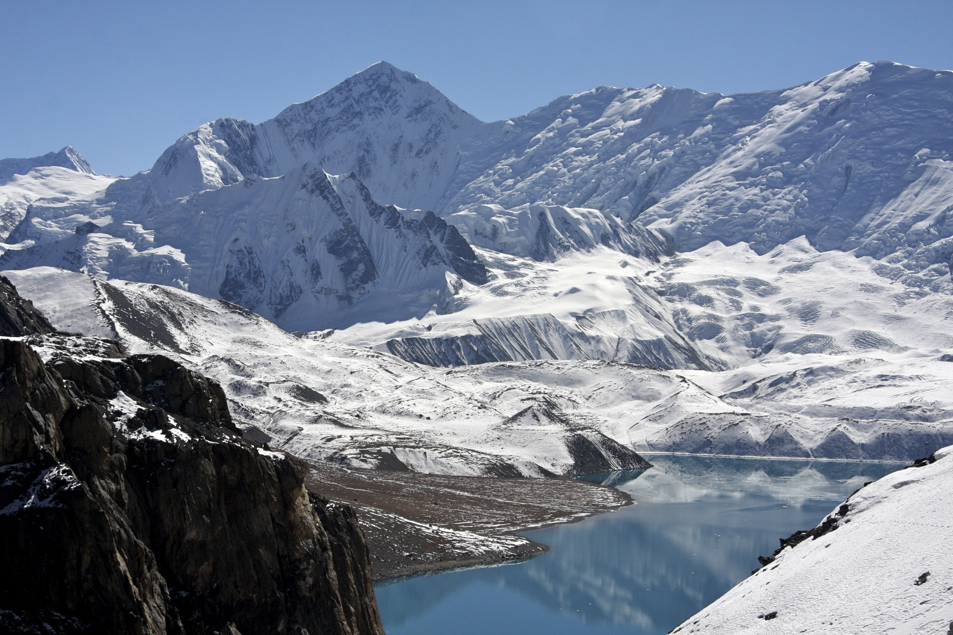 Gangapurna and Tilicho Lake