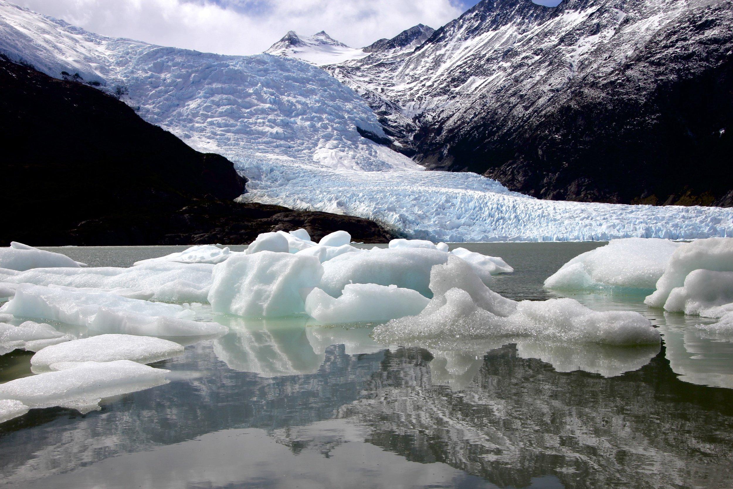 Darwin Range on the Tierra del Fuego