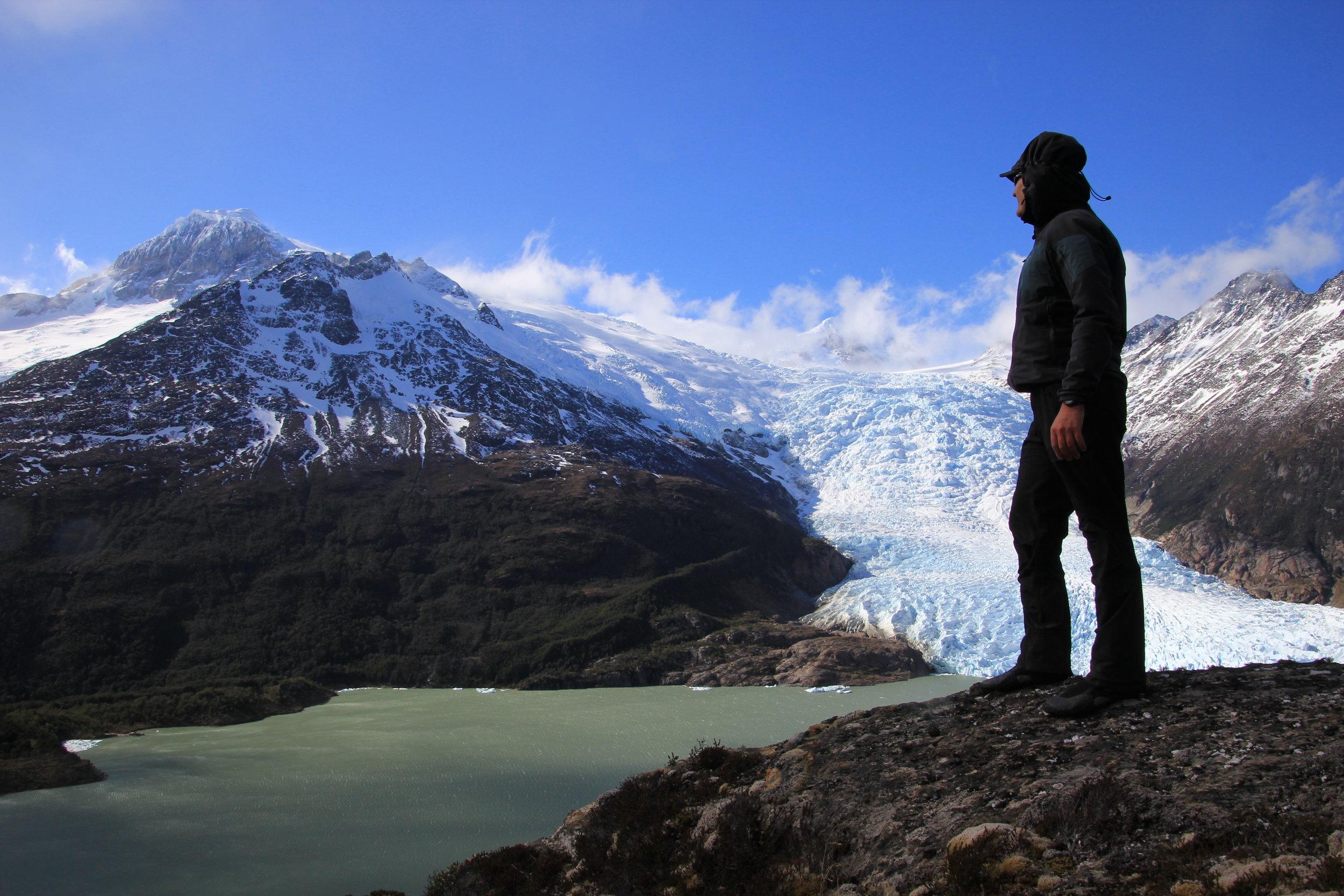 In the Darwin Range of Tierra del Fuego