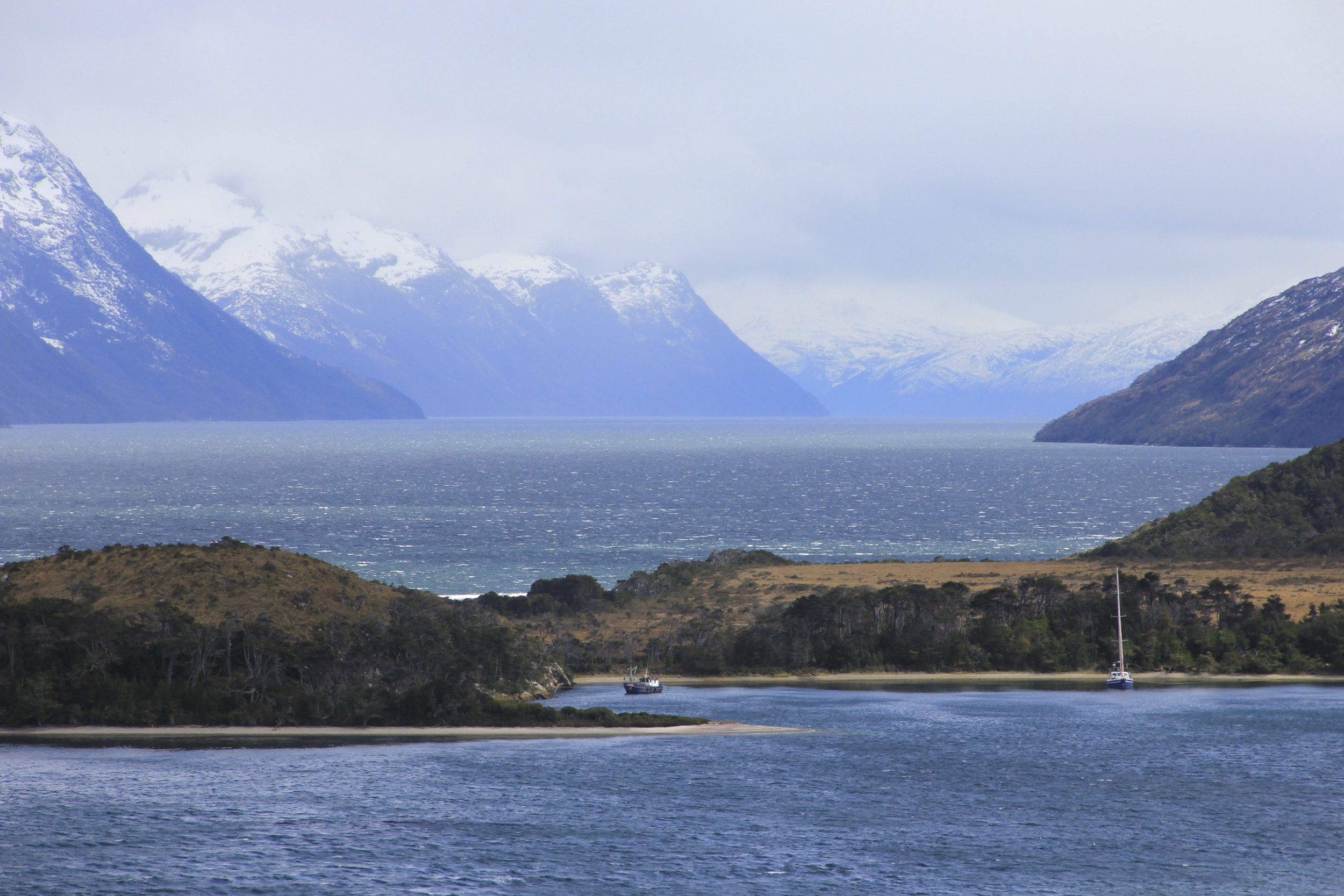 Beagle Channel and the southern Patagonia