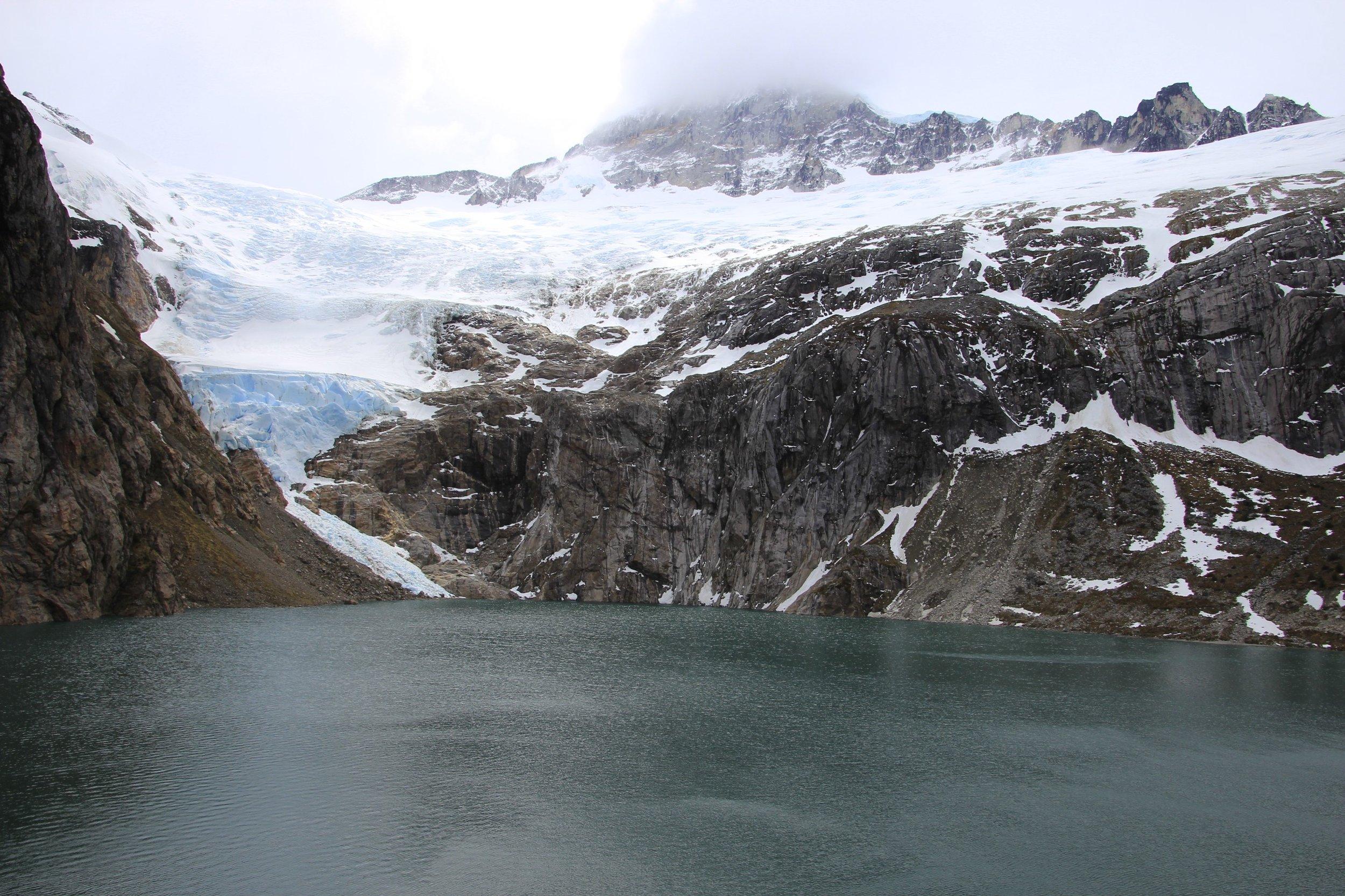 The Darwin Range on Tierra del Fuego