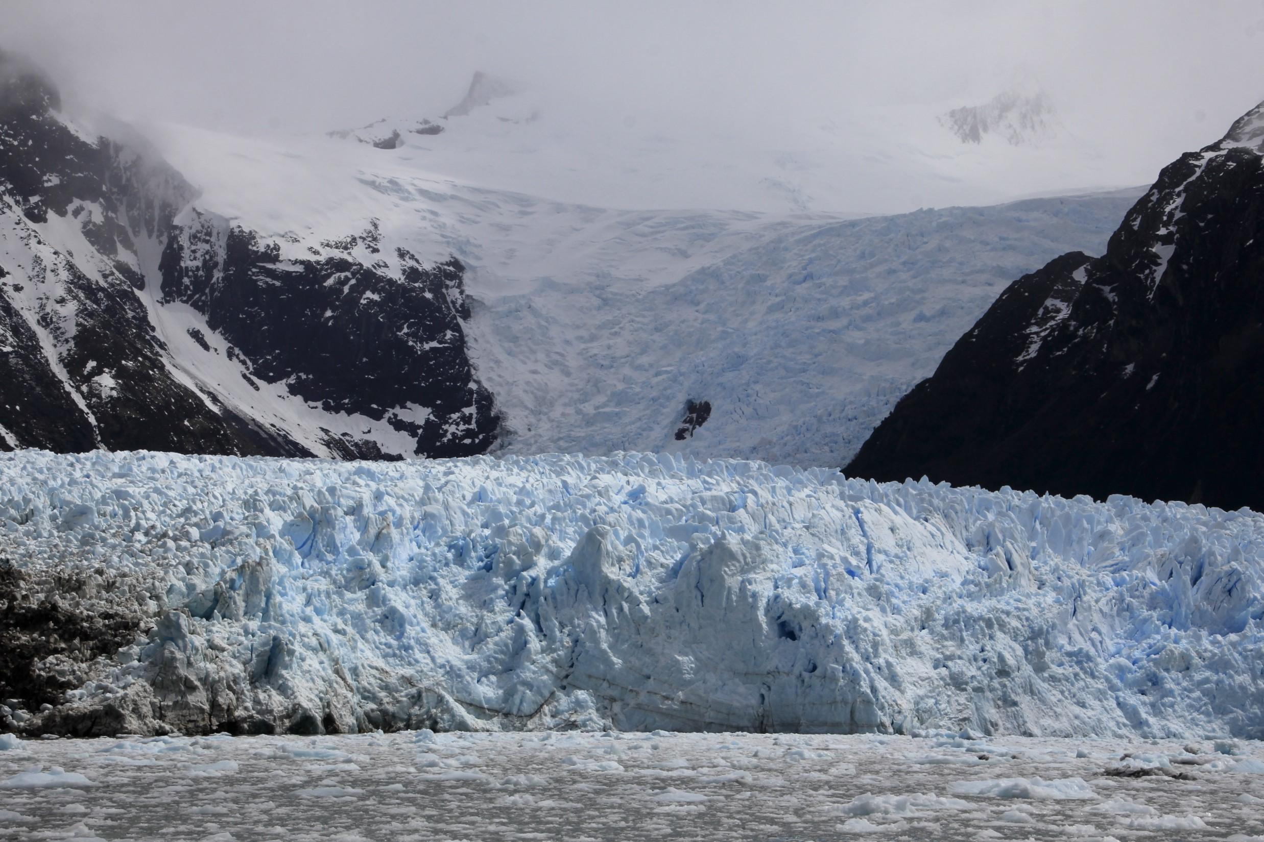 Darwin Range on Tierra del Fuego