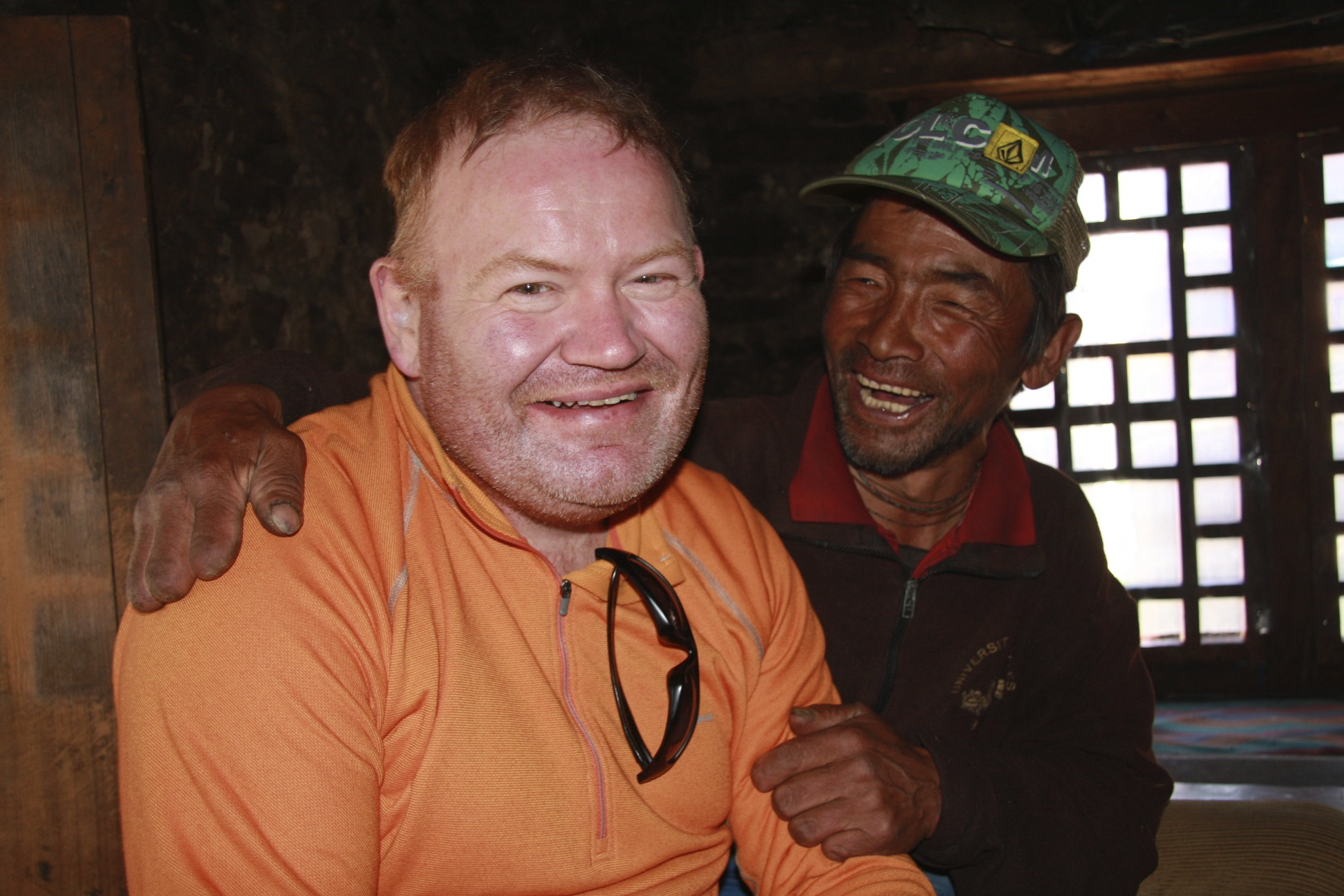 The man who lost all of his fingers on Manaslu