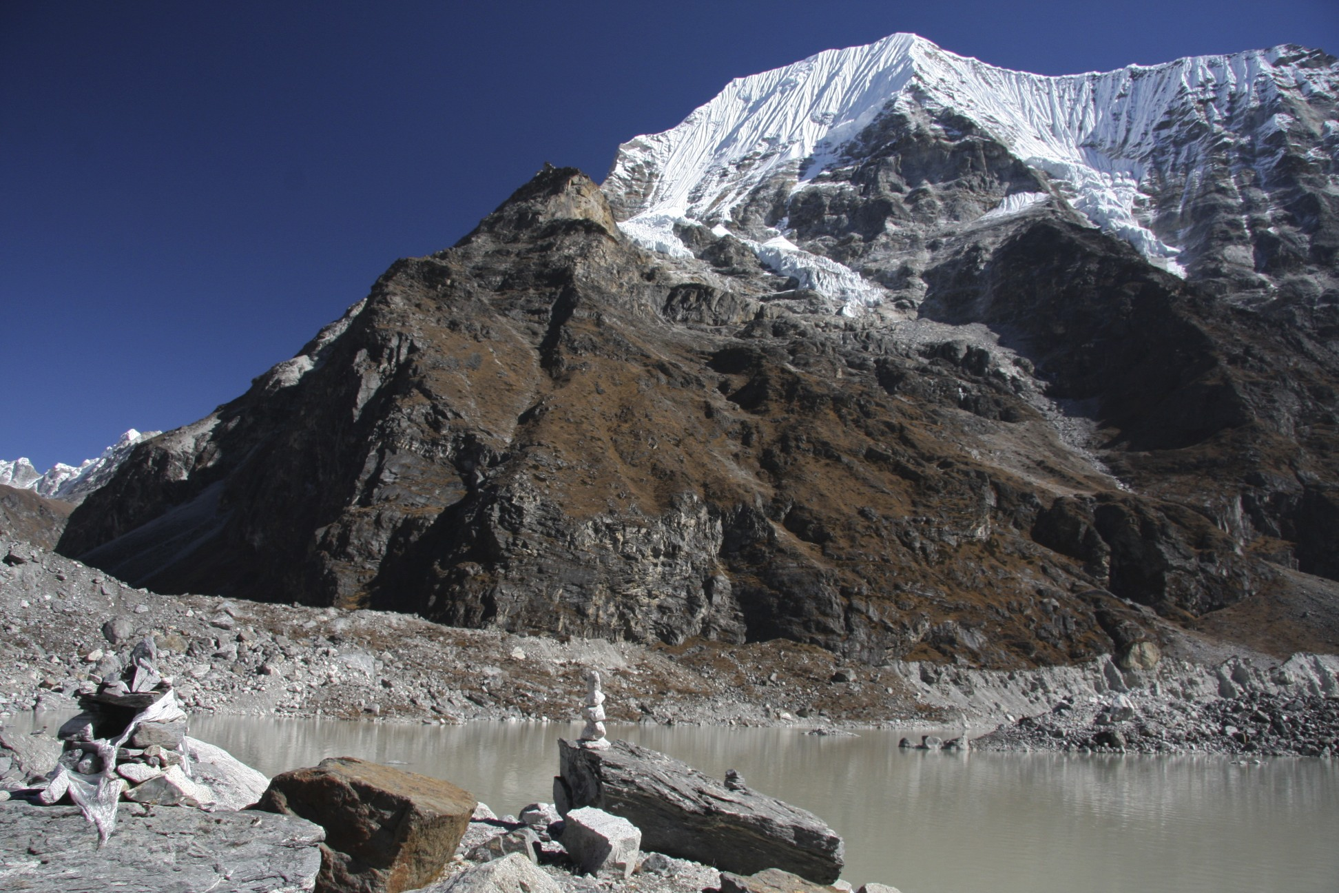 Tsoboye and Tso Rolpa Lake