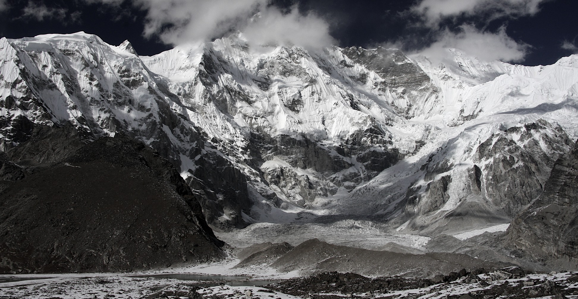 Cho Oyu south face