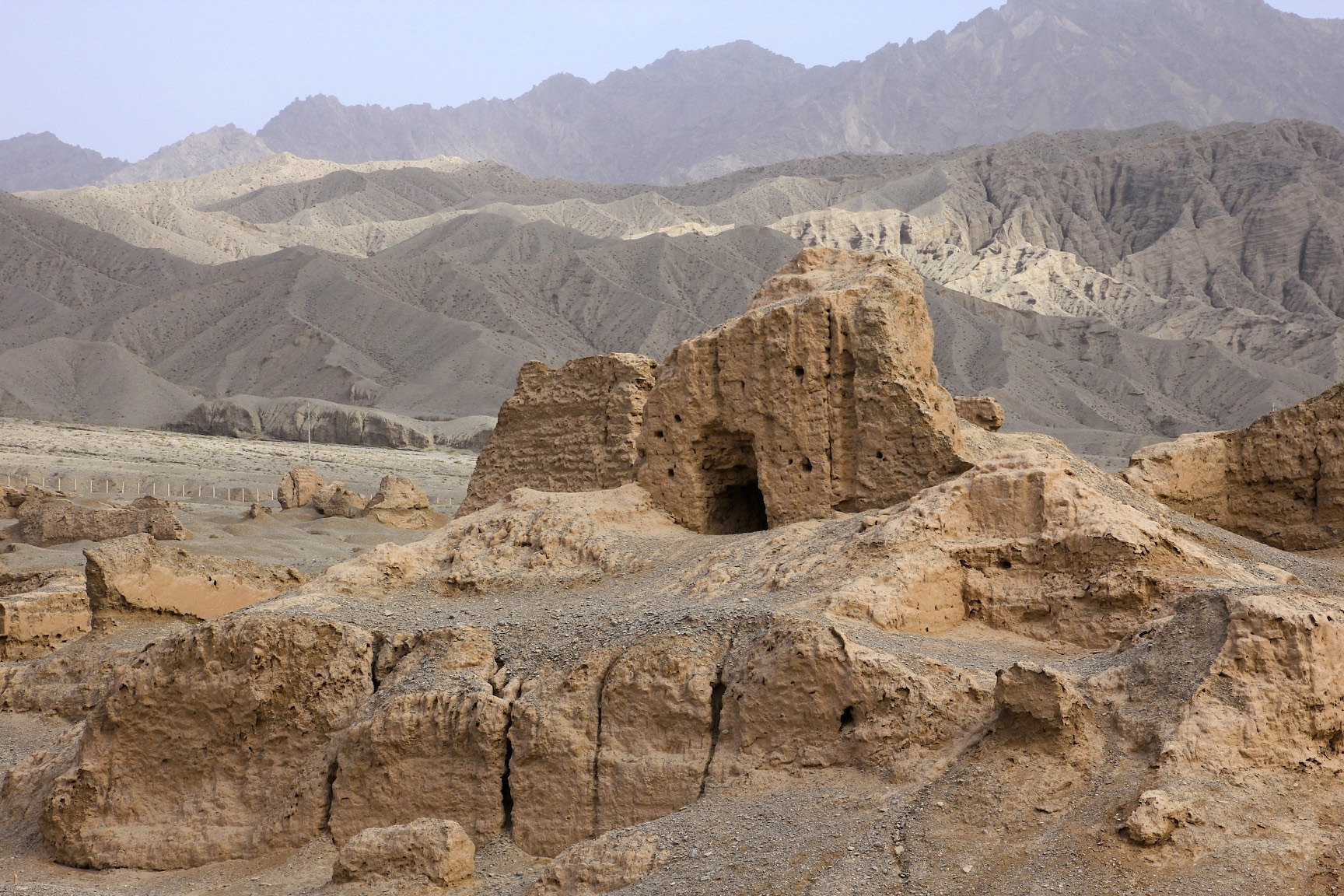 The Subashi Temple is a ruined Buddhist temple near Kucha in the Taklamakan Desert, on the ancient Silk Road, in Xinjiang, China