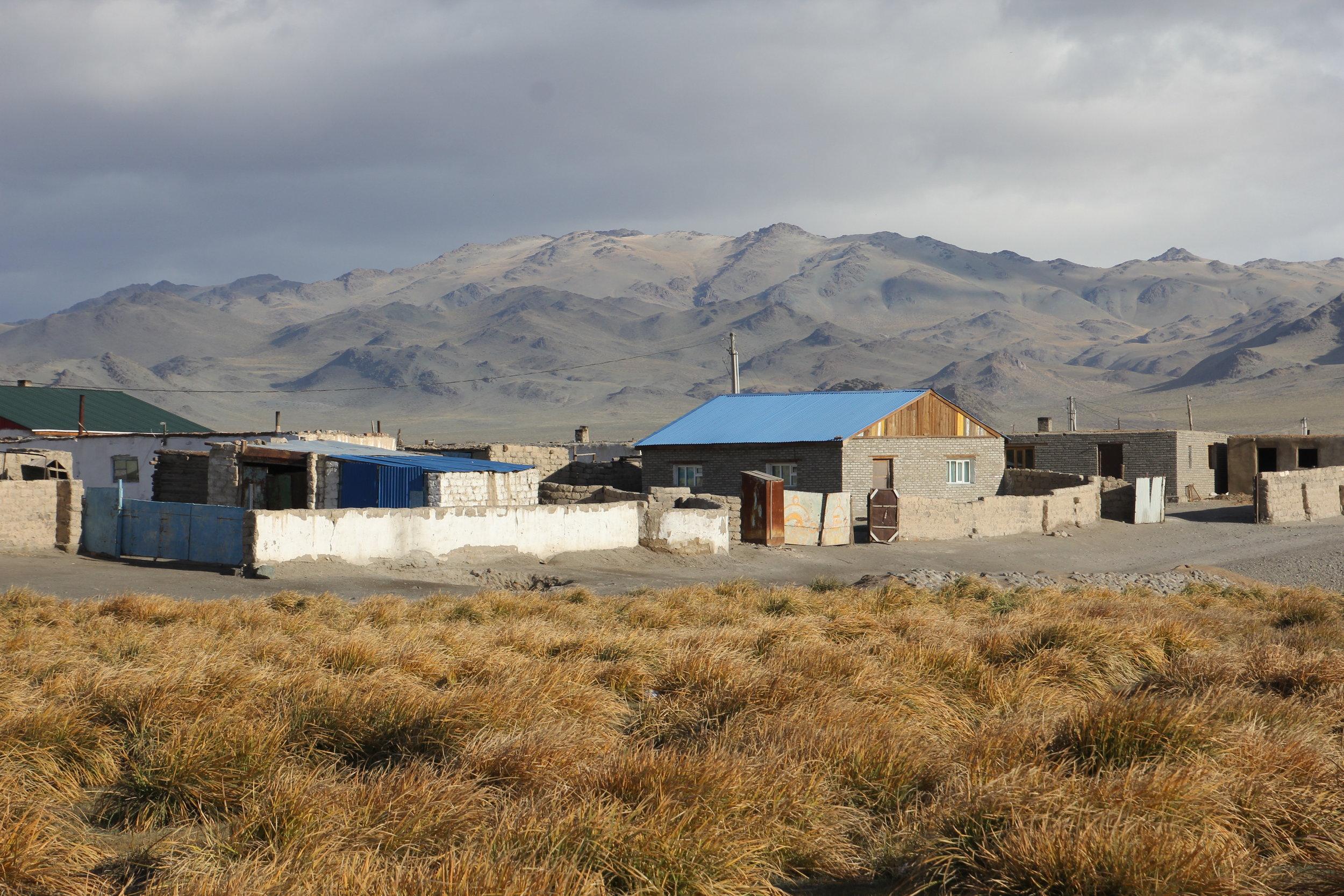 Olgi - the capital of Western Mongolia