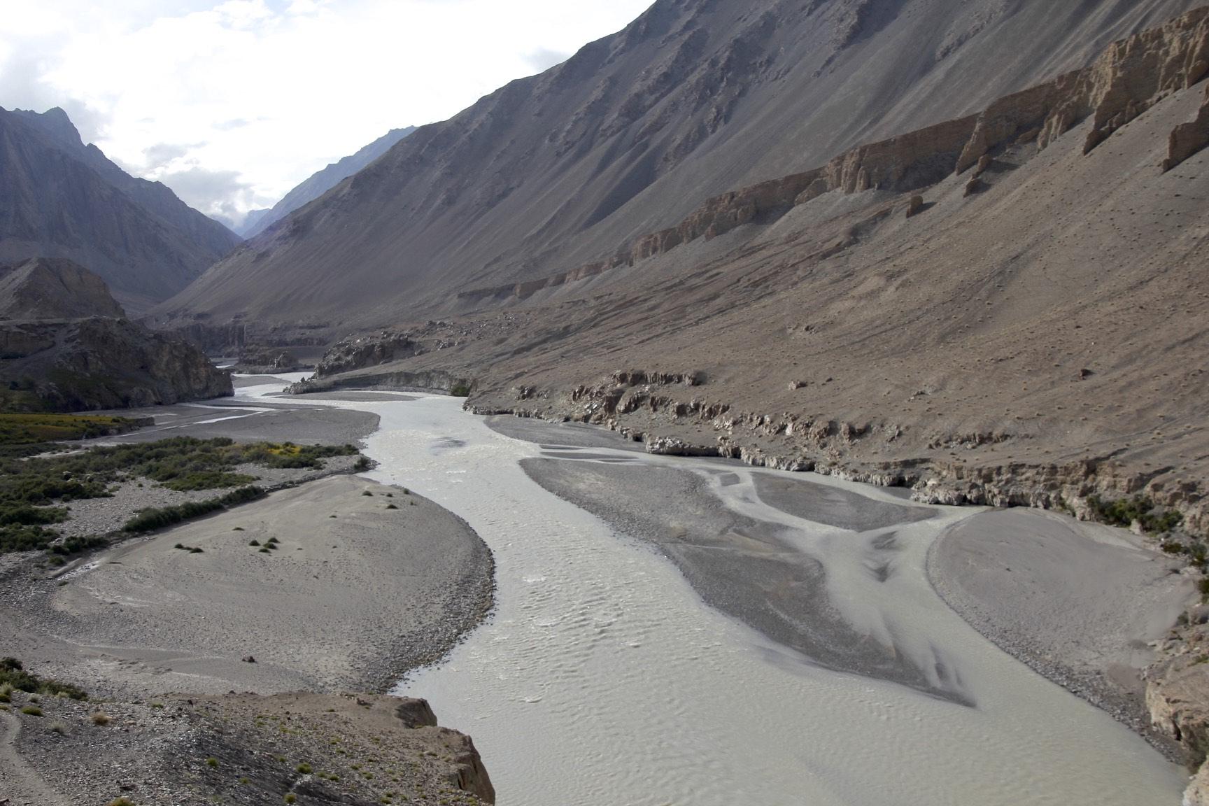 Yarkand River in Ilik