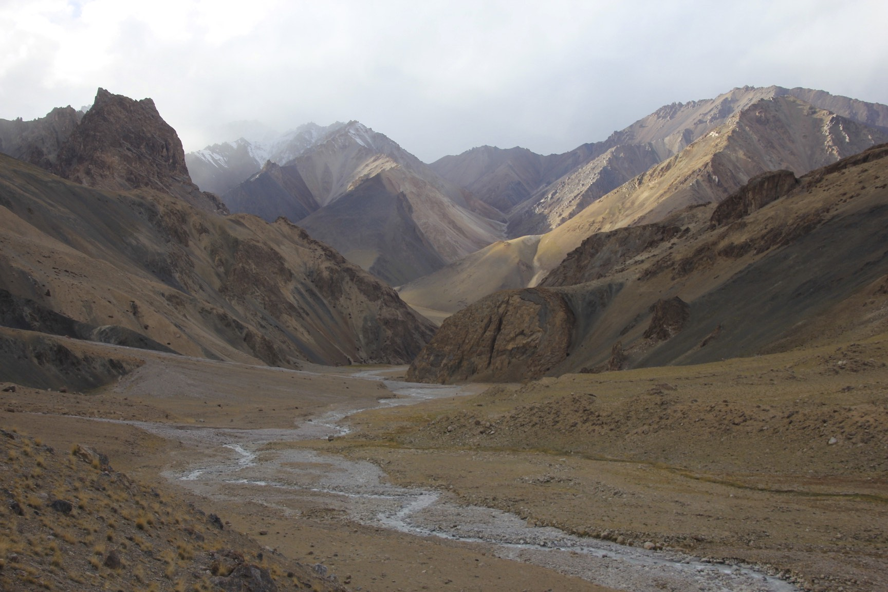 The approach to the Aghil PAss