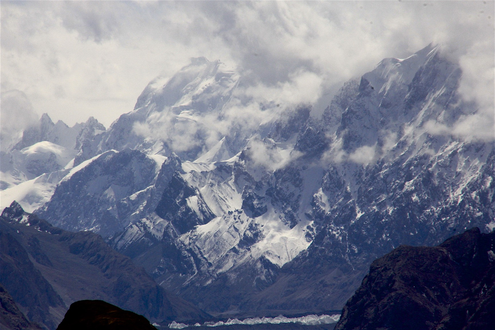 The high Karakoram from the Aghil Pass