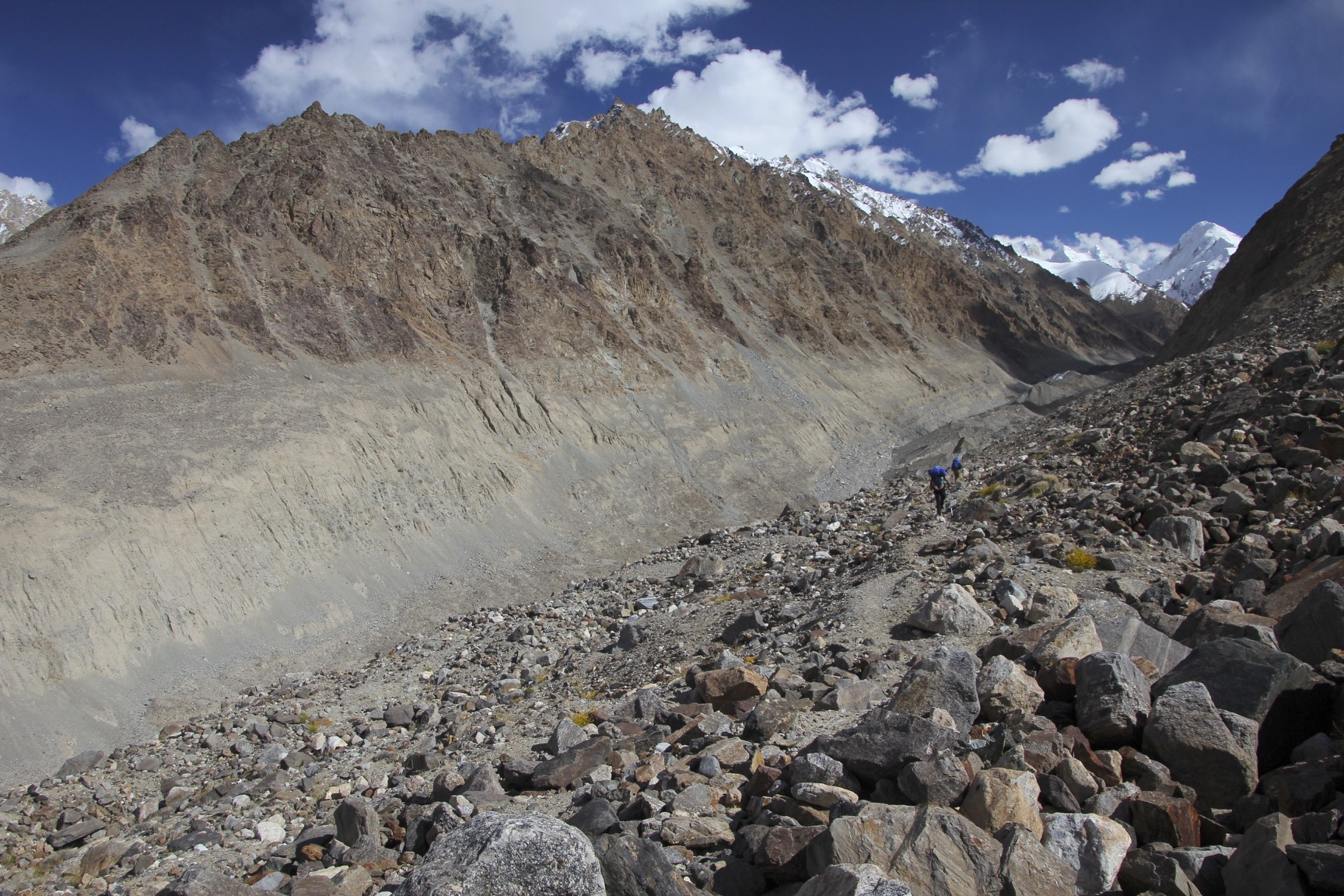 Approaching the K2 Glacier