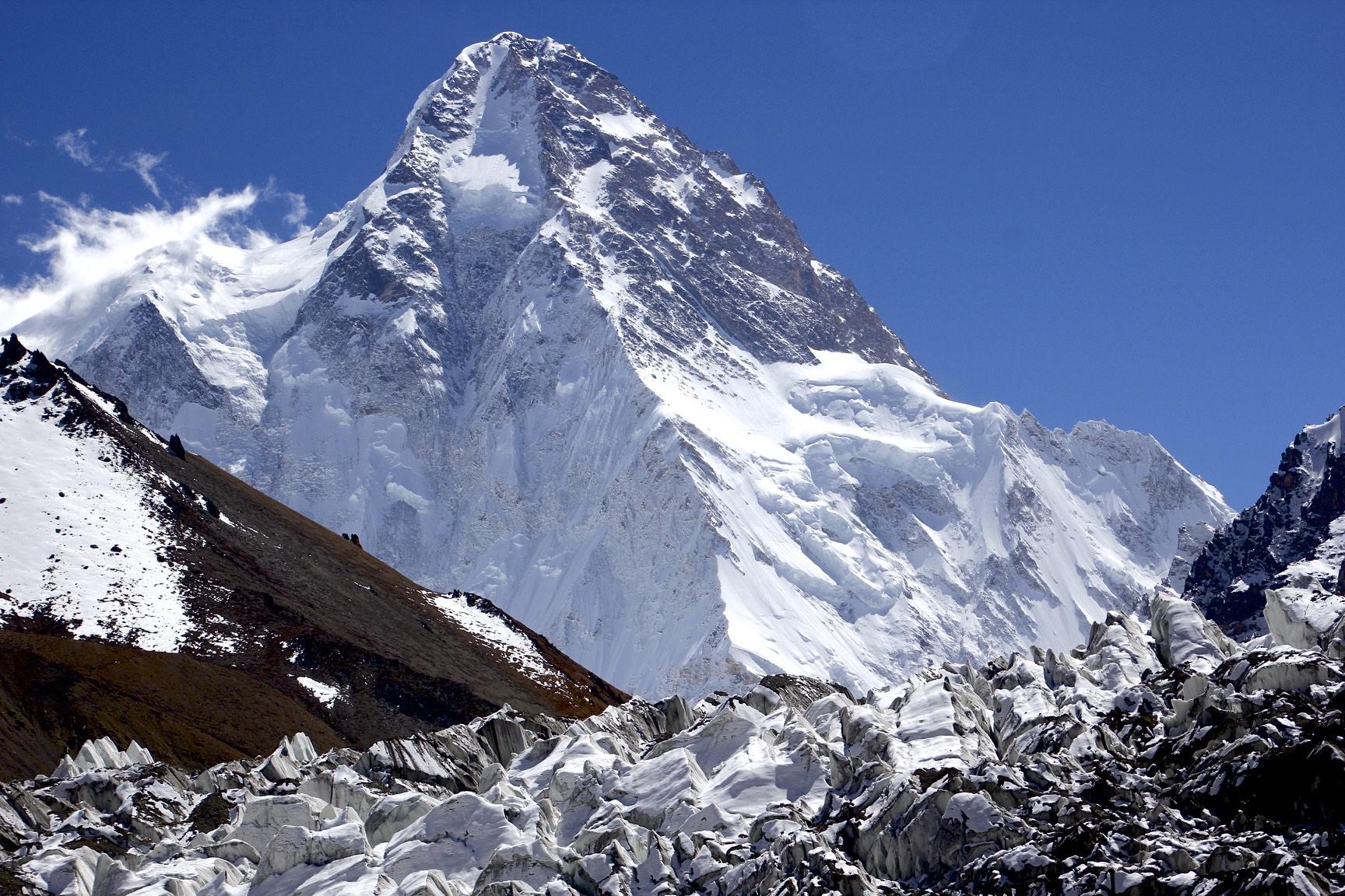 K2 and a side glacier