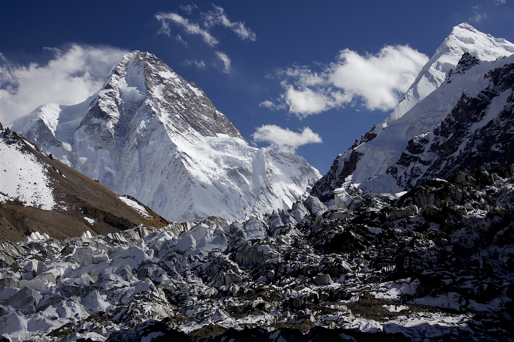 K2, Pakistan is on the other side