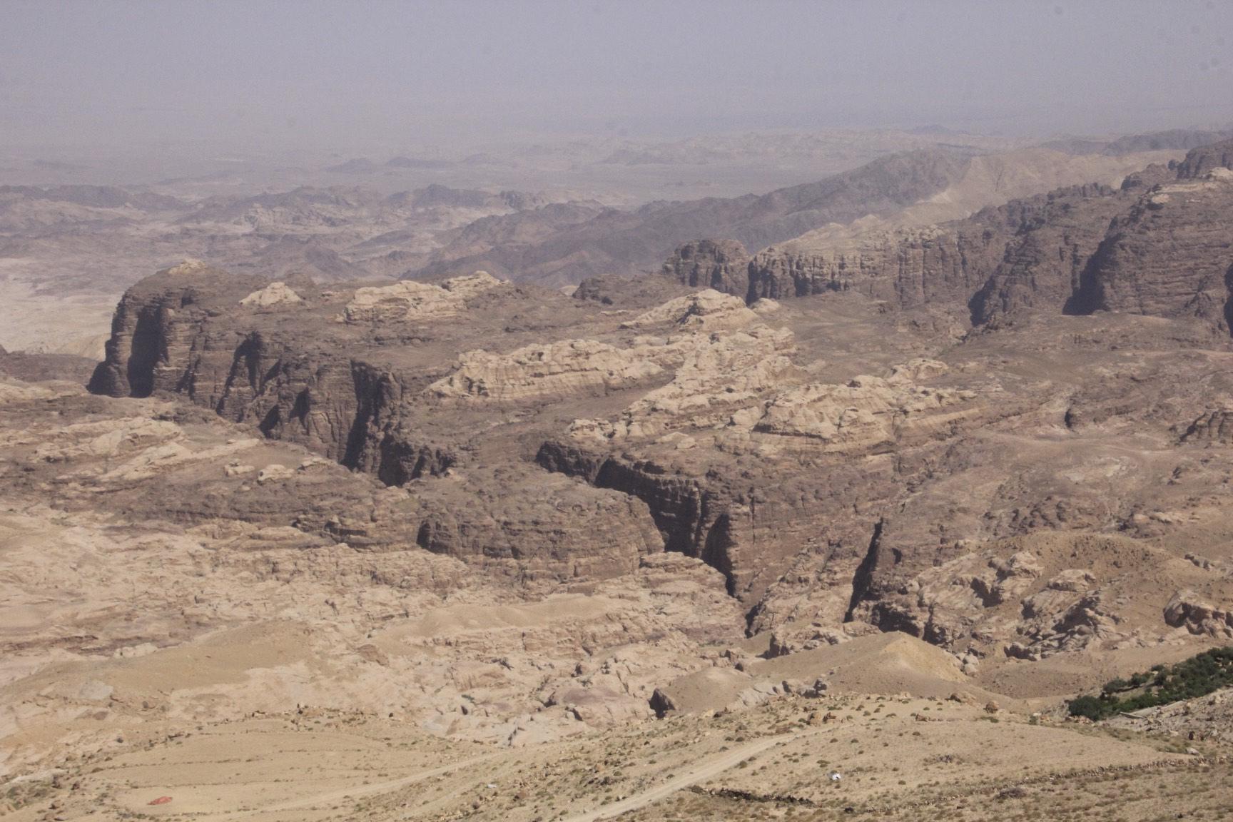 Petra is down below