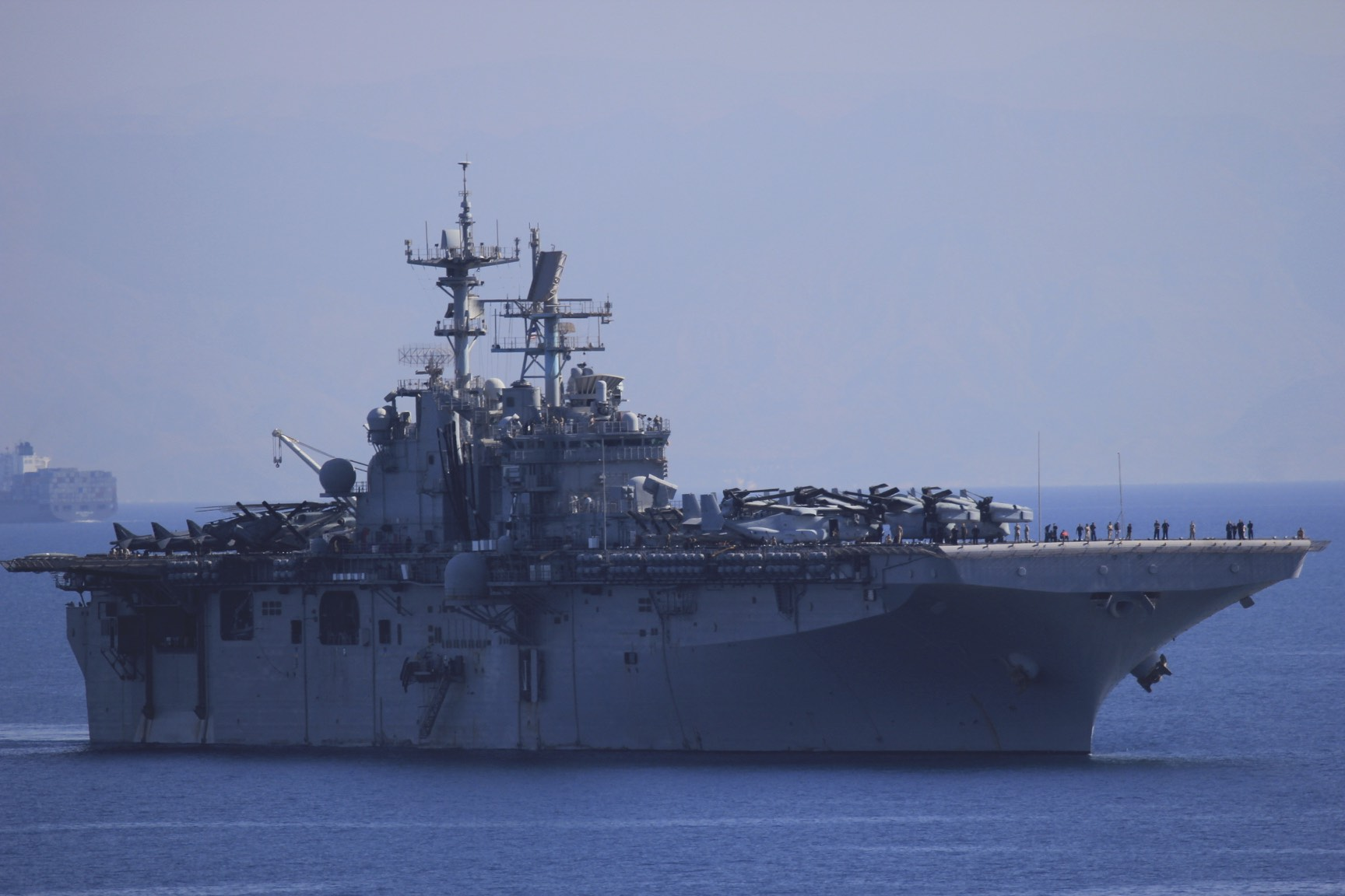 US Navy repositioning from the Persian Gulf