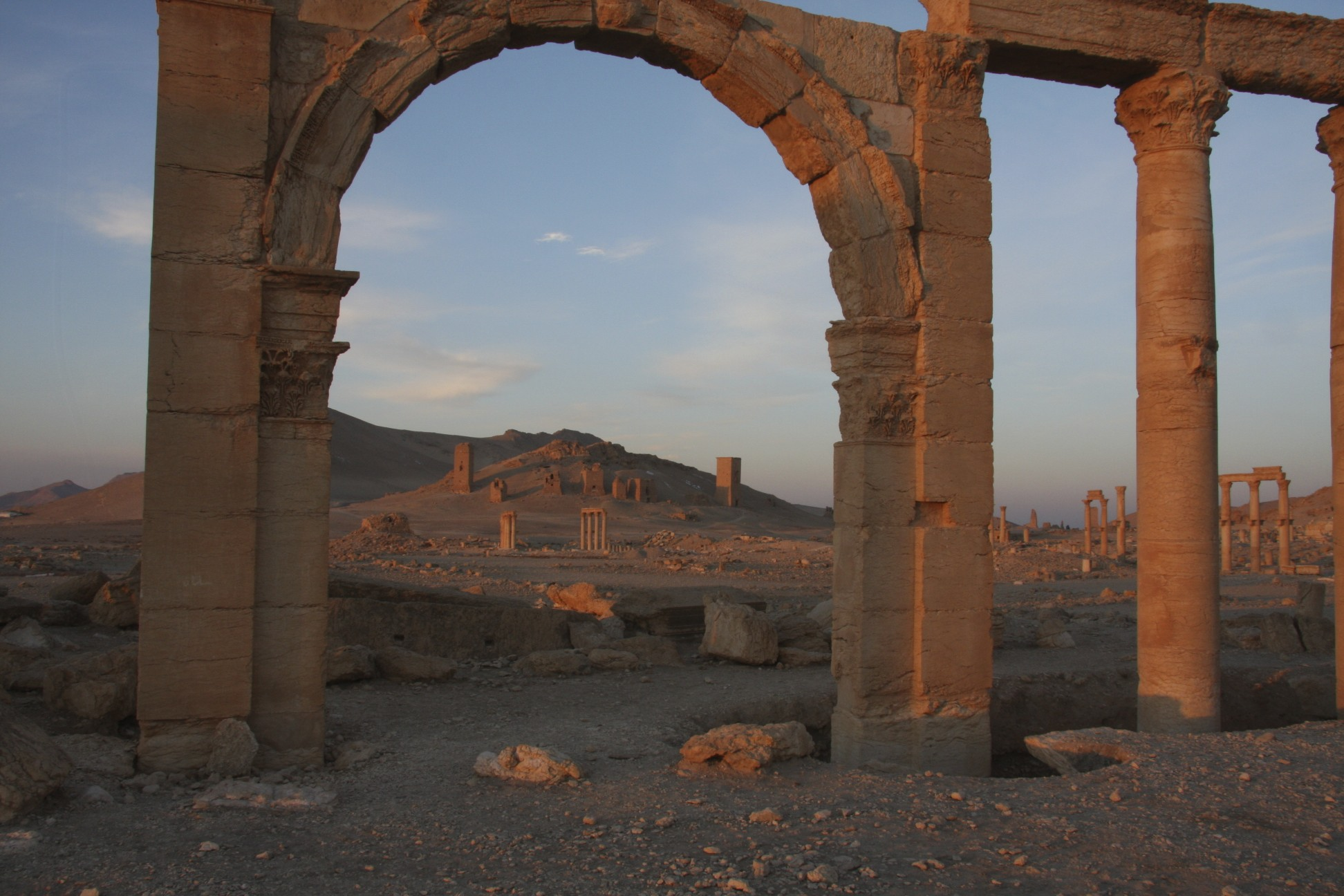 Palmyra - the ancient Silk Road city