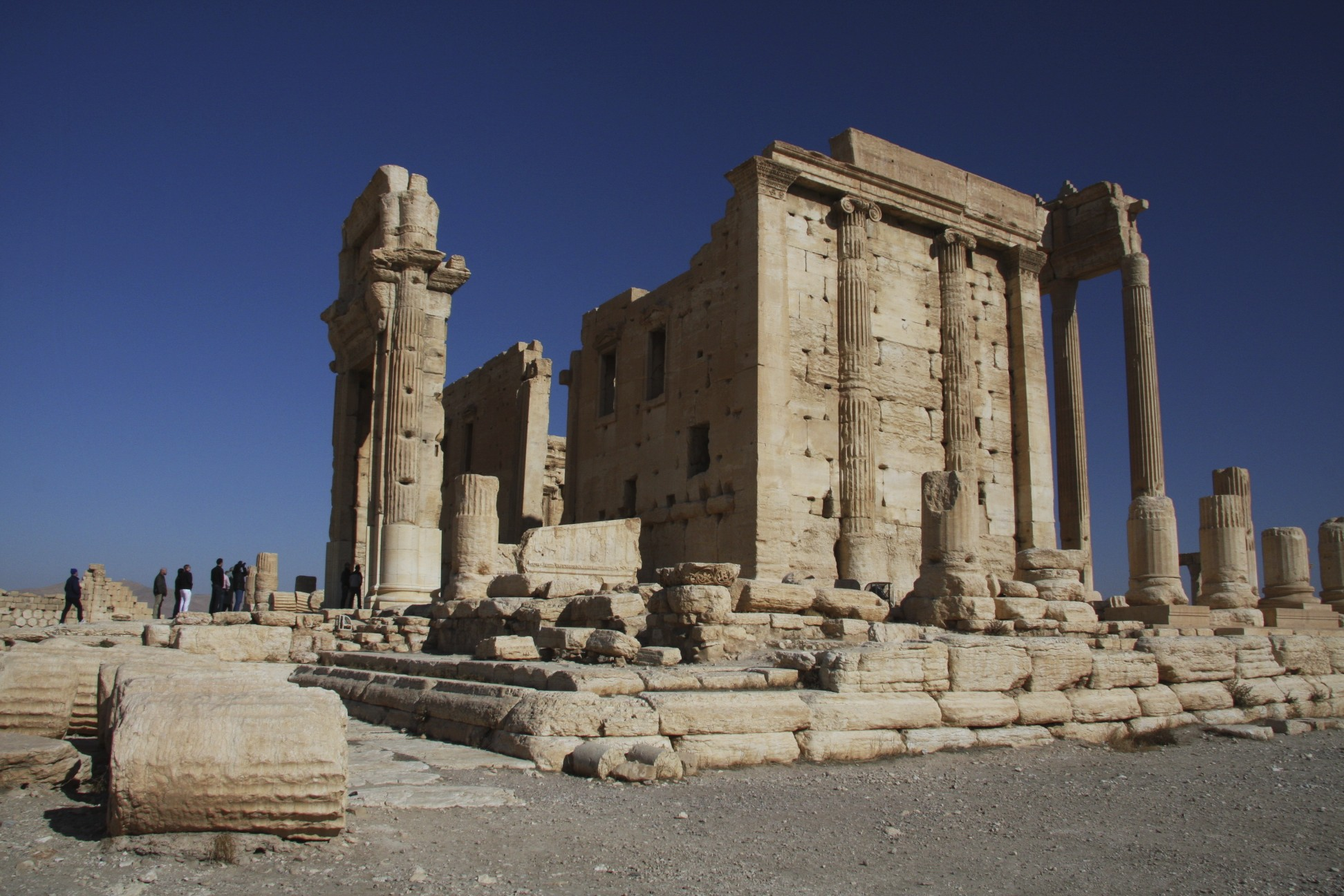 The Temple of Bel built in 32 AD