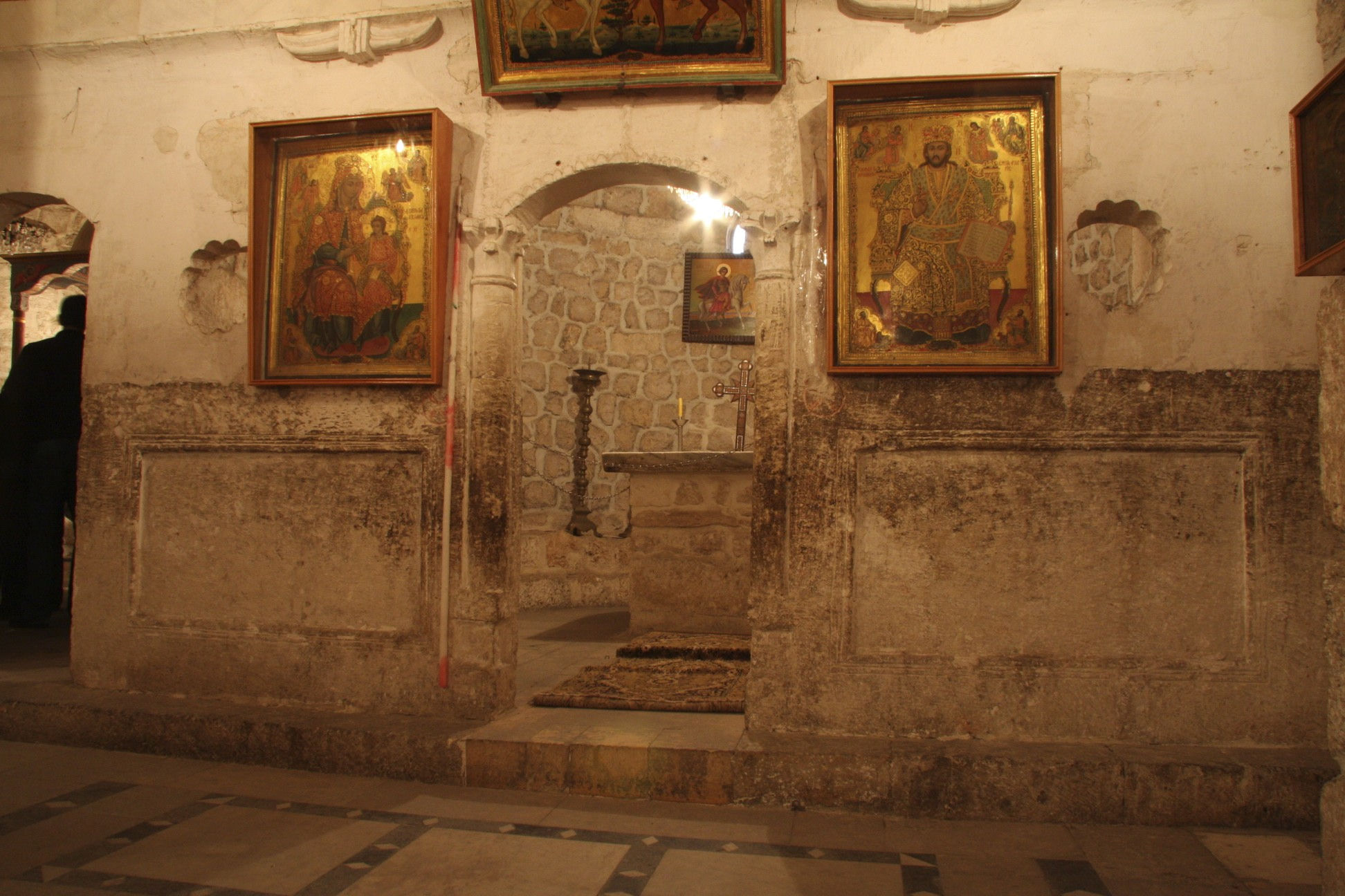 Some of the oldest Christian churches in the world are in Syria.  Some were built during the times of the apostles.