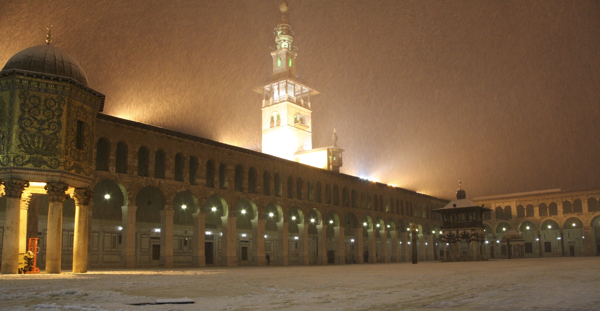 Umayyad Mosque in Dmascus