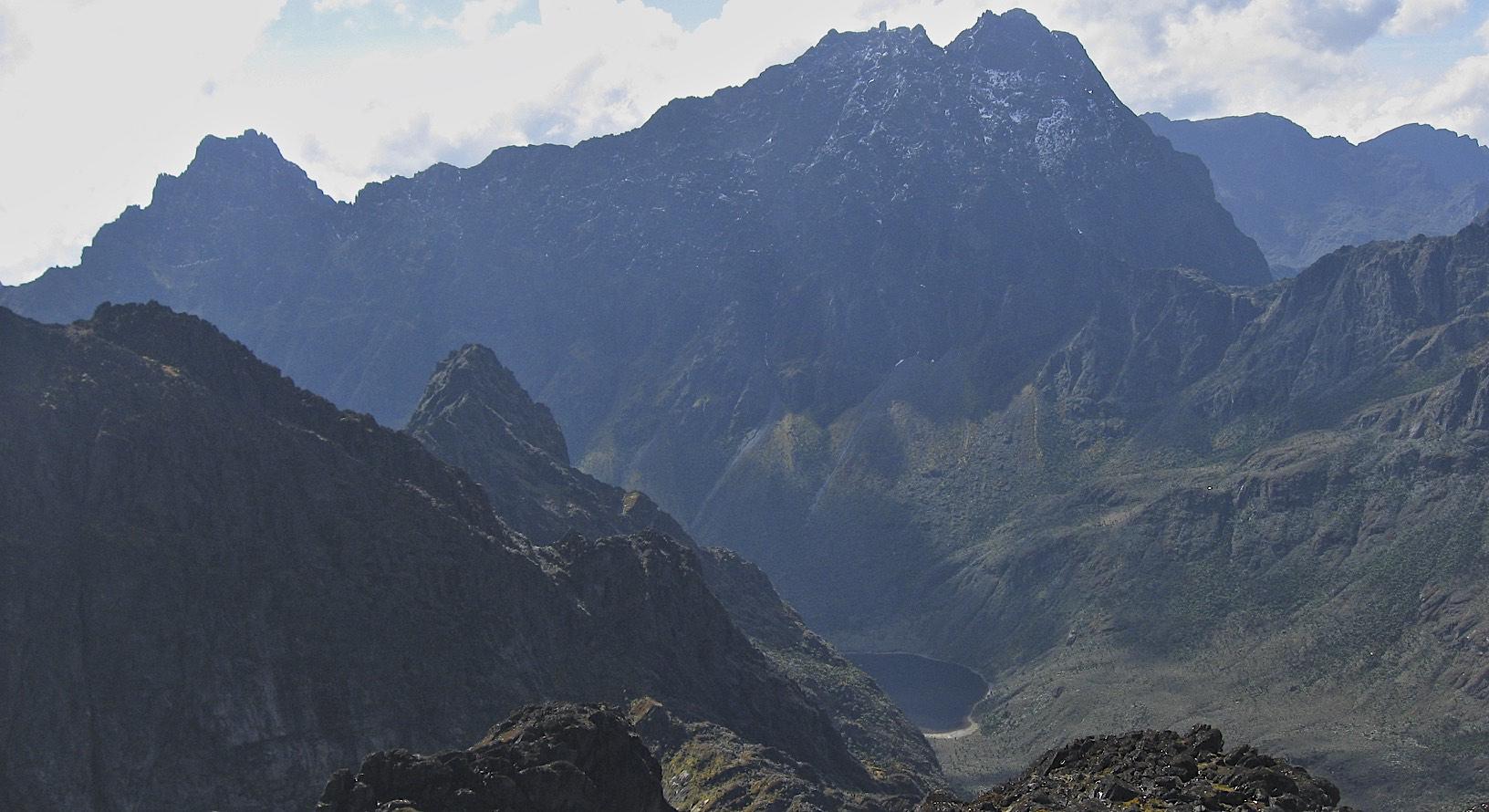 On Mt. Speke