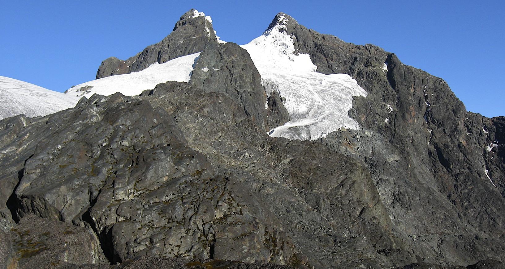 Mt. Margatita 5,109 from Elena Hut