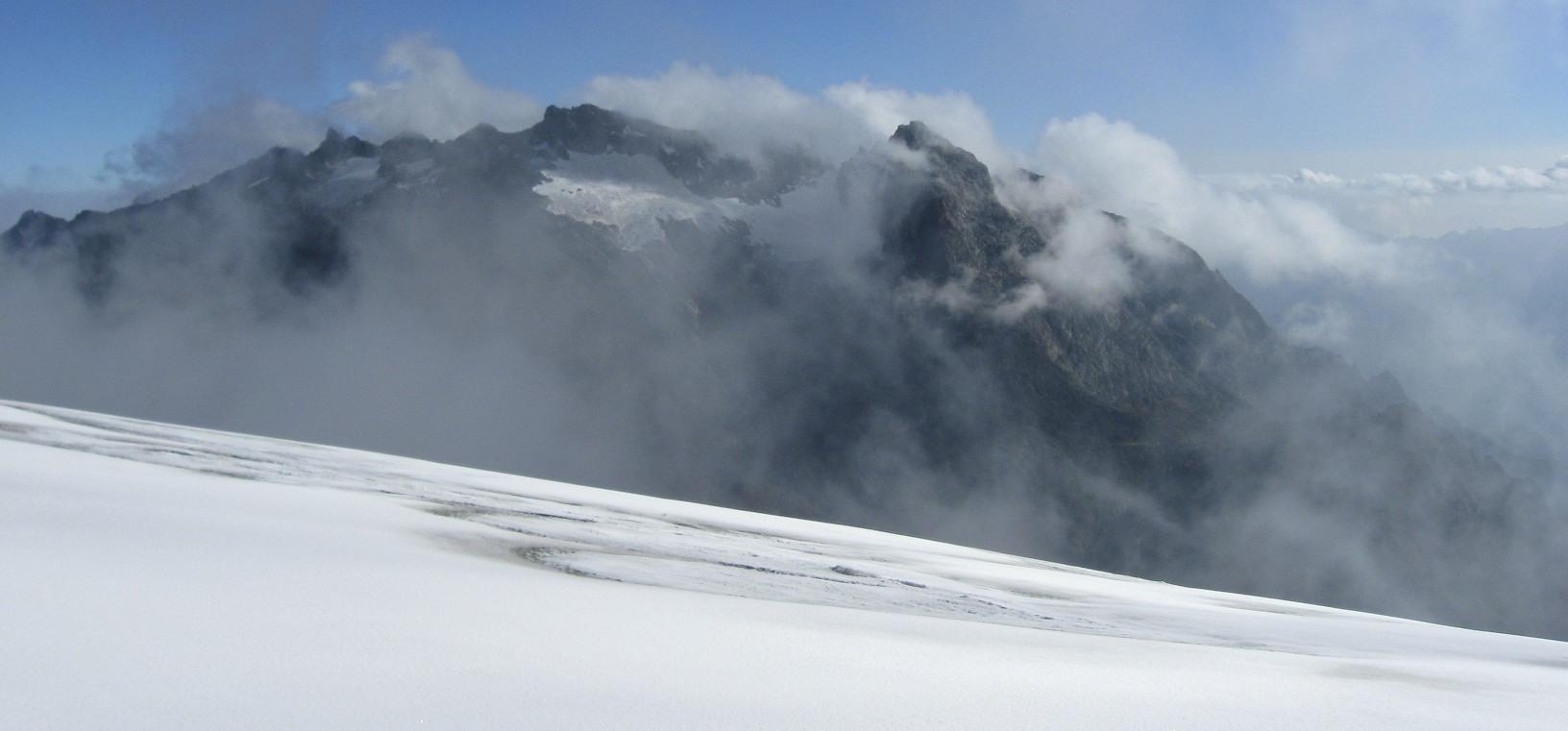 Mt. Baker from the Margarita Glacier