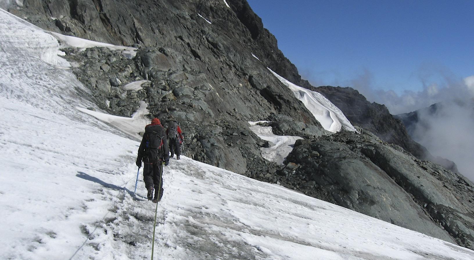 Summit ridge of Mt. Margarita