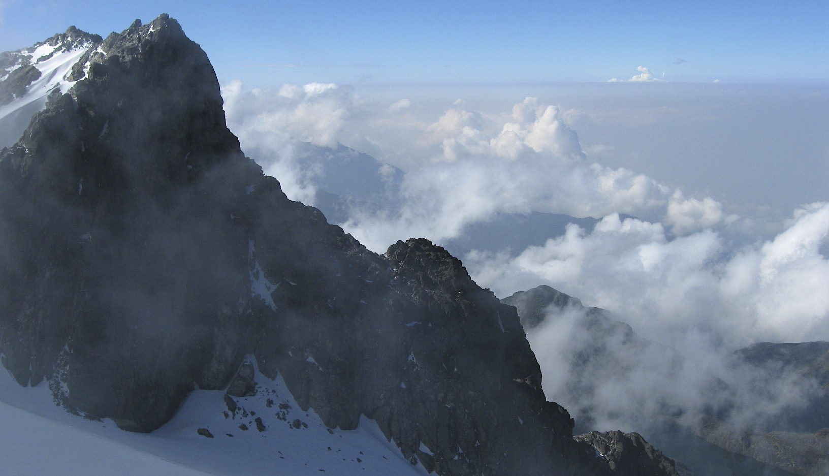 Mt. Alexandra from Mt. Margarita 5,083m