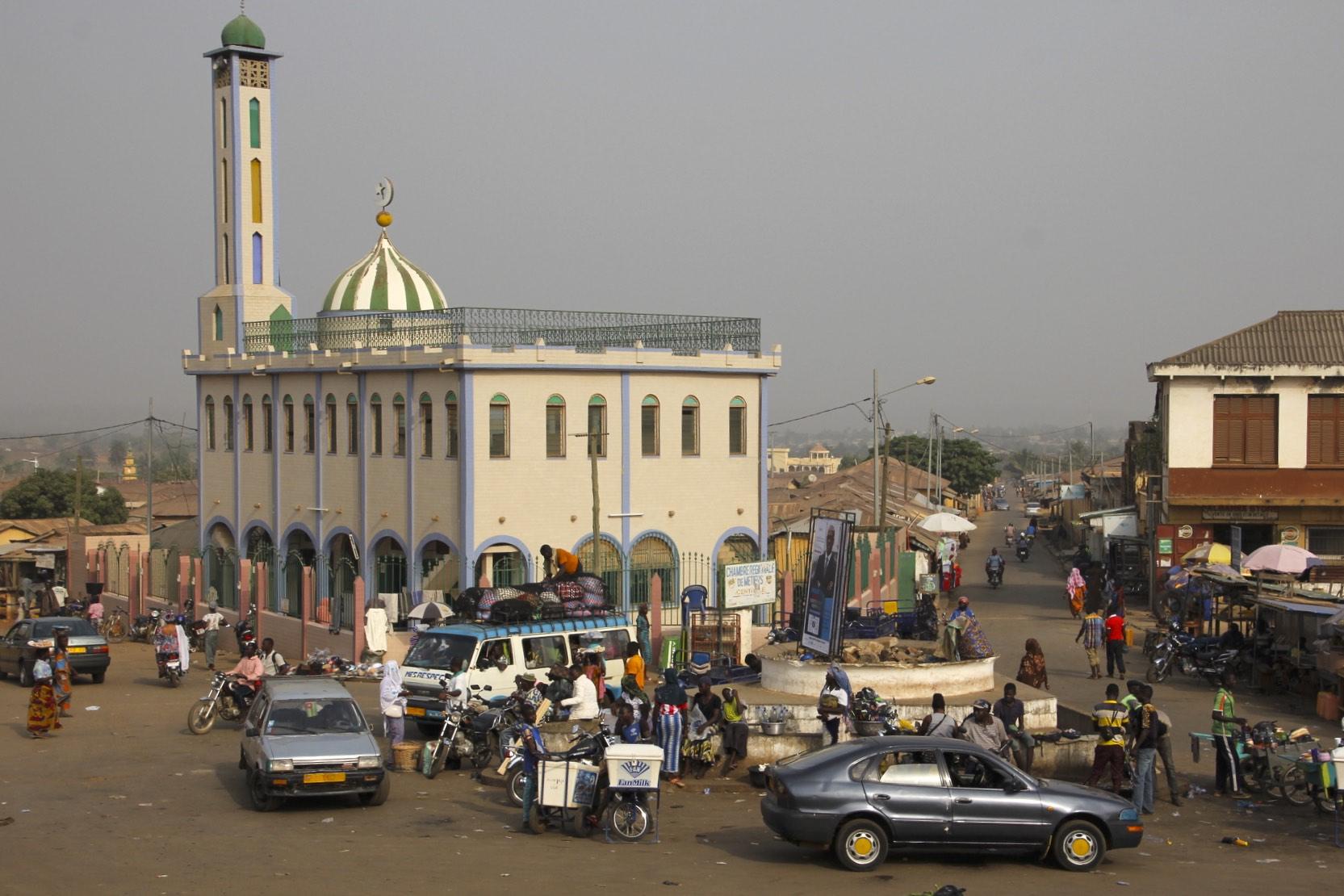 Main square in Sokode, Togo