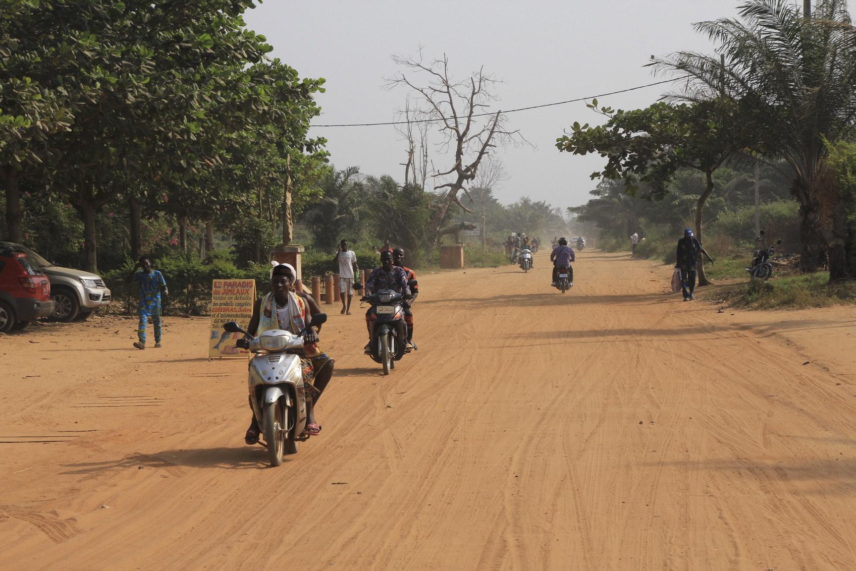 Ouidah, Benin, the road of no return