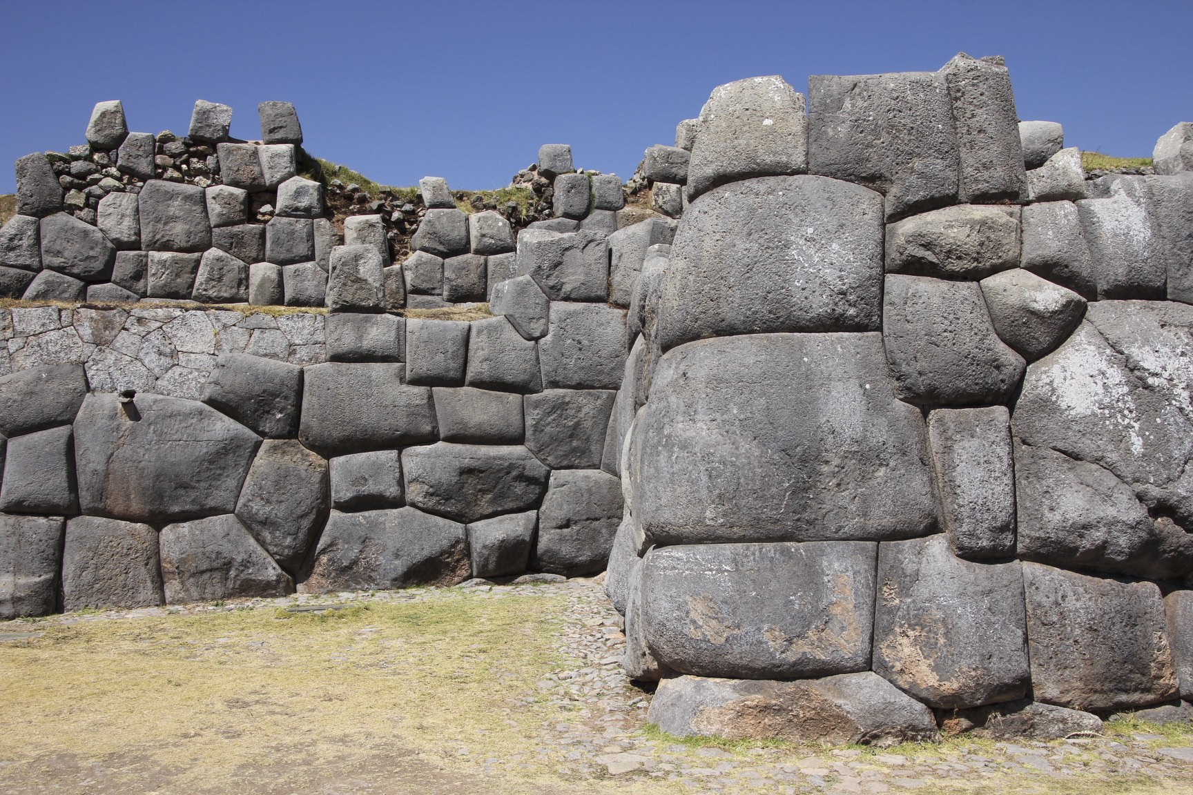 Inca fortress of Saksaywaman above Cusco