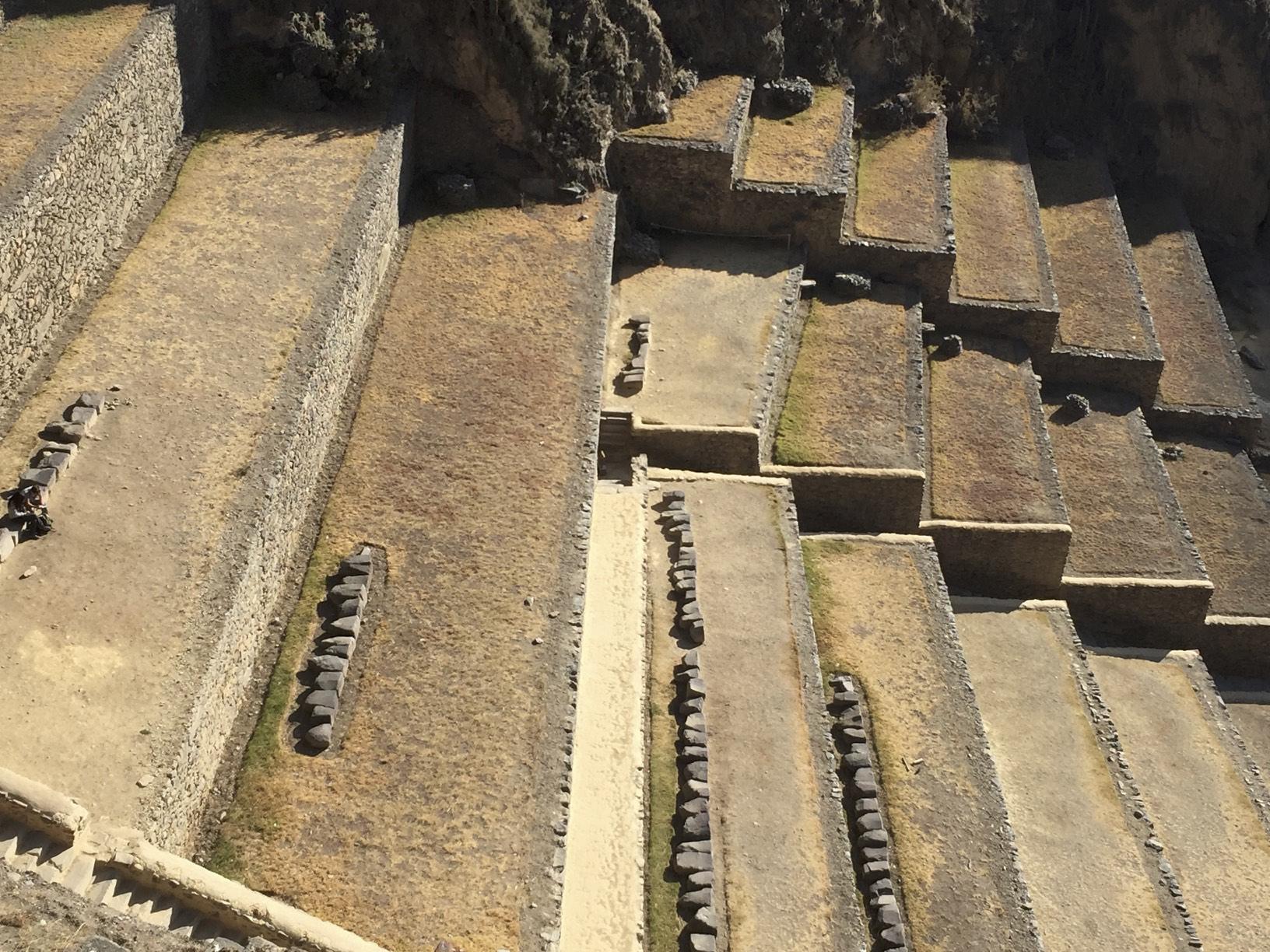 The Ollantaytambo Fortress