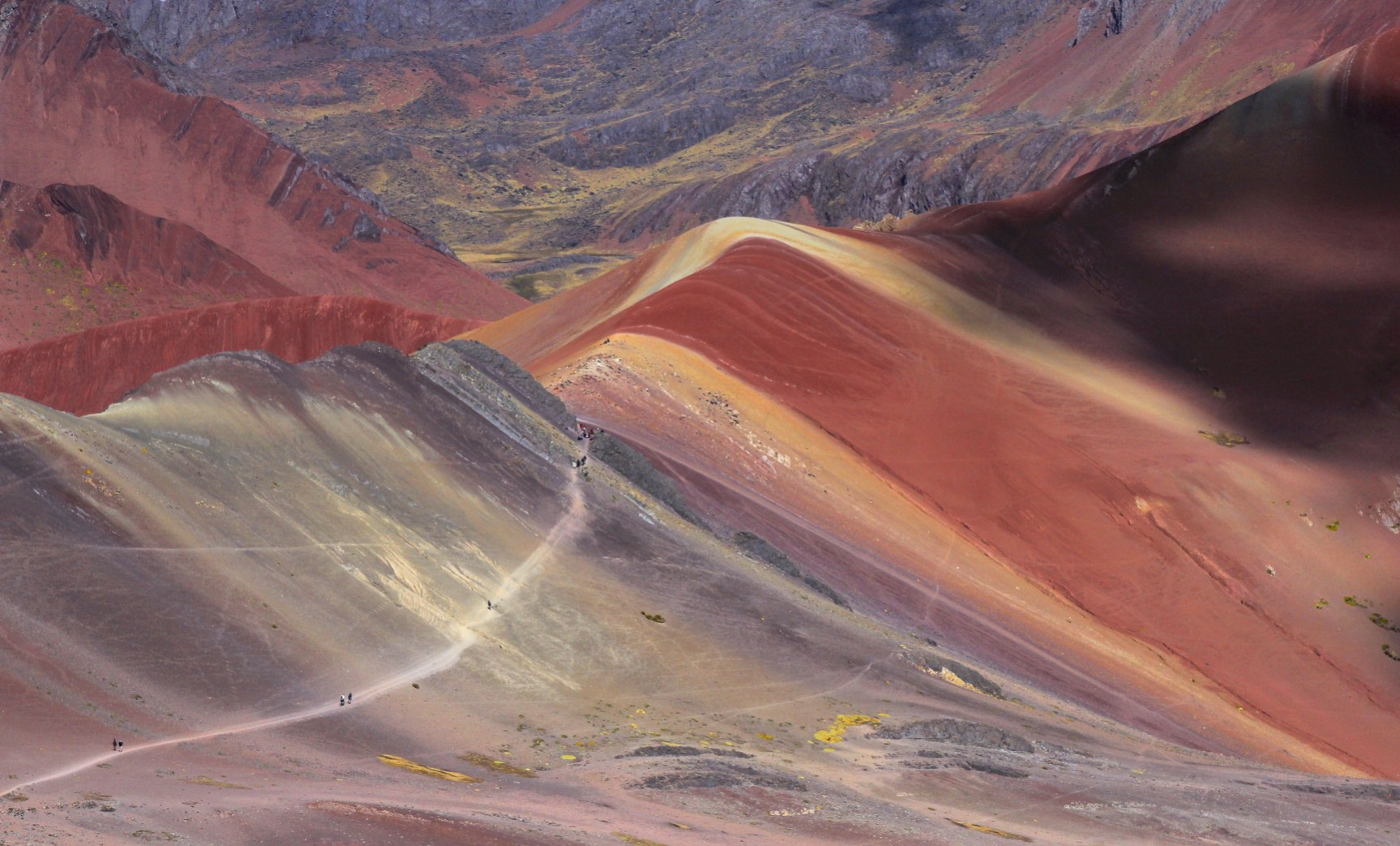 Painted Mountains and the Red Valley