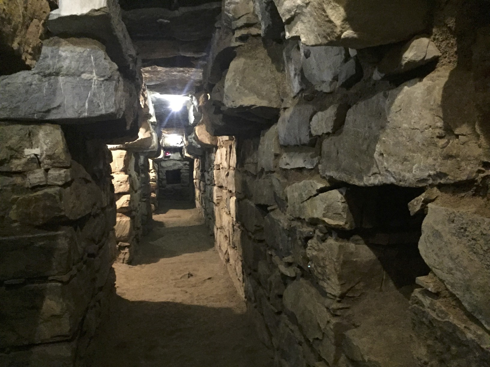 The underground caverns of Chavin - the realm of high priests and drug induced ceremonies