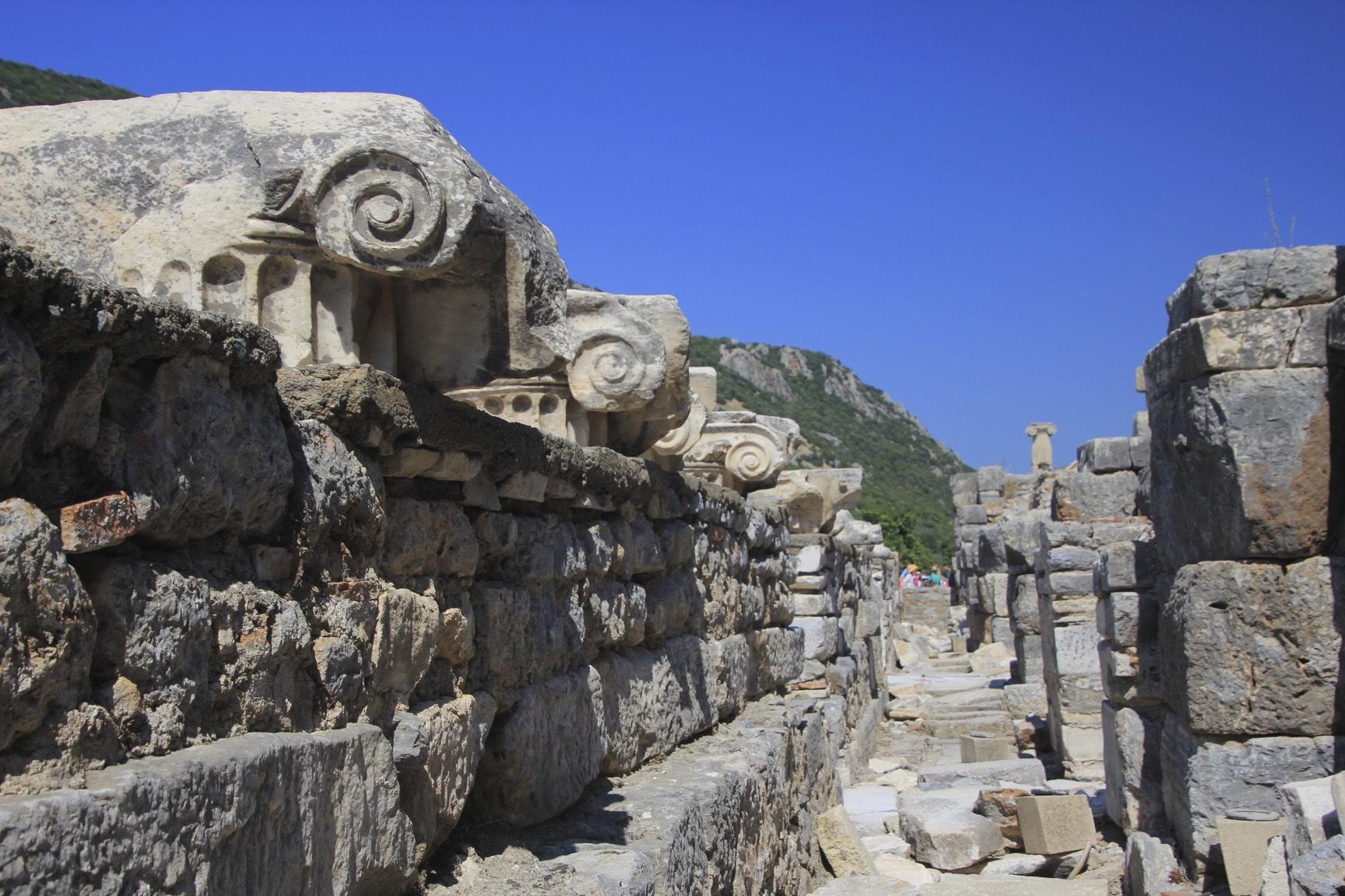 Ephesus, the old port of the Romans