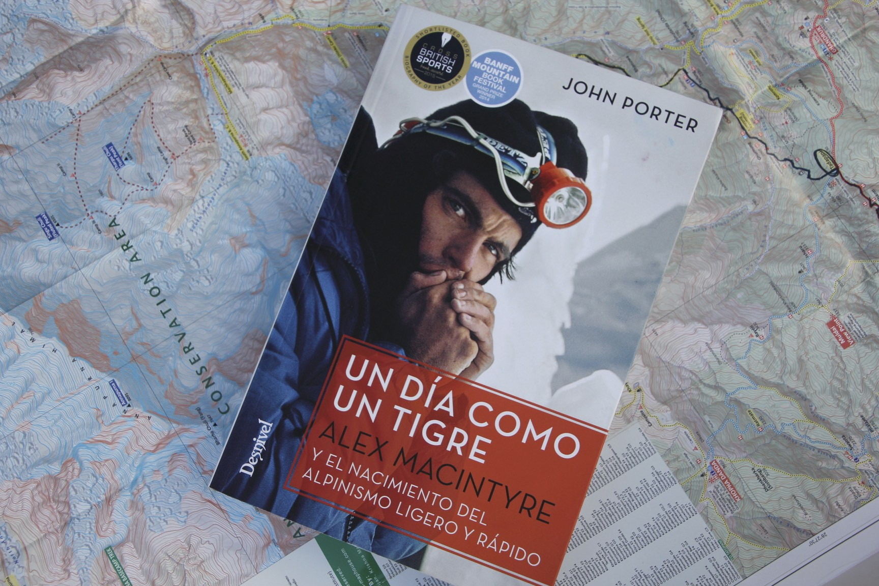 A book about Alex Macintyre who died on Annapurna I (great book by the way)