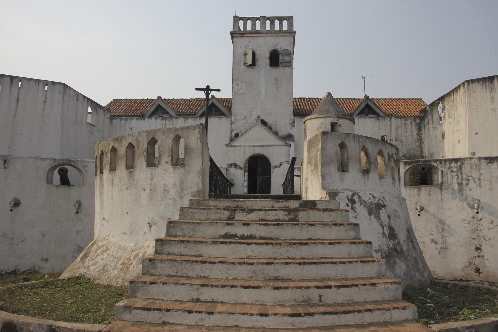 St. James Castle in Elmina