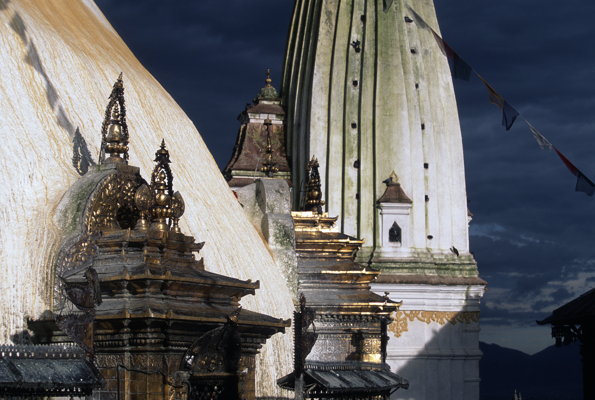 Swayambhunath or The Monkey Temple in Kathmandu