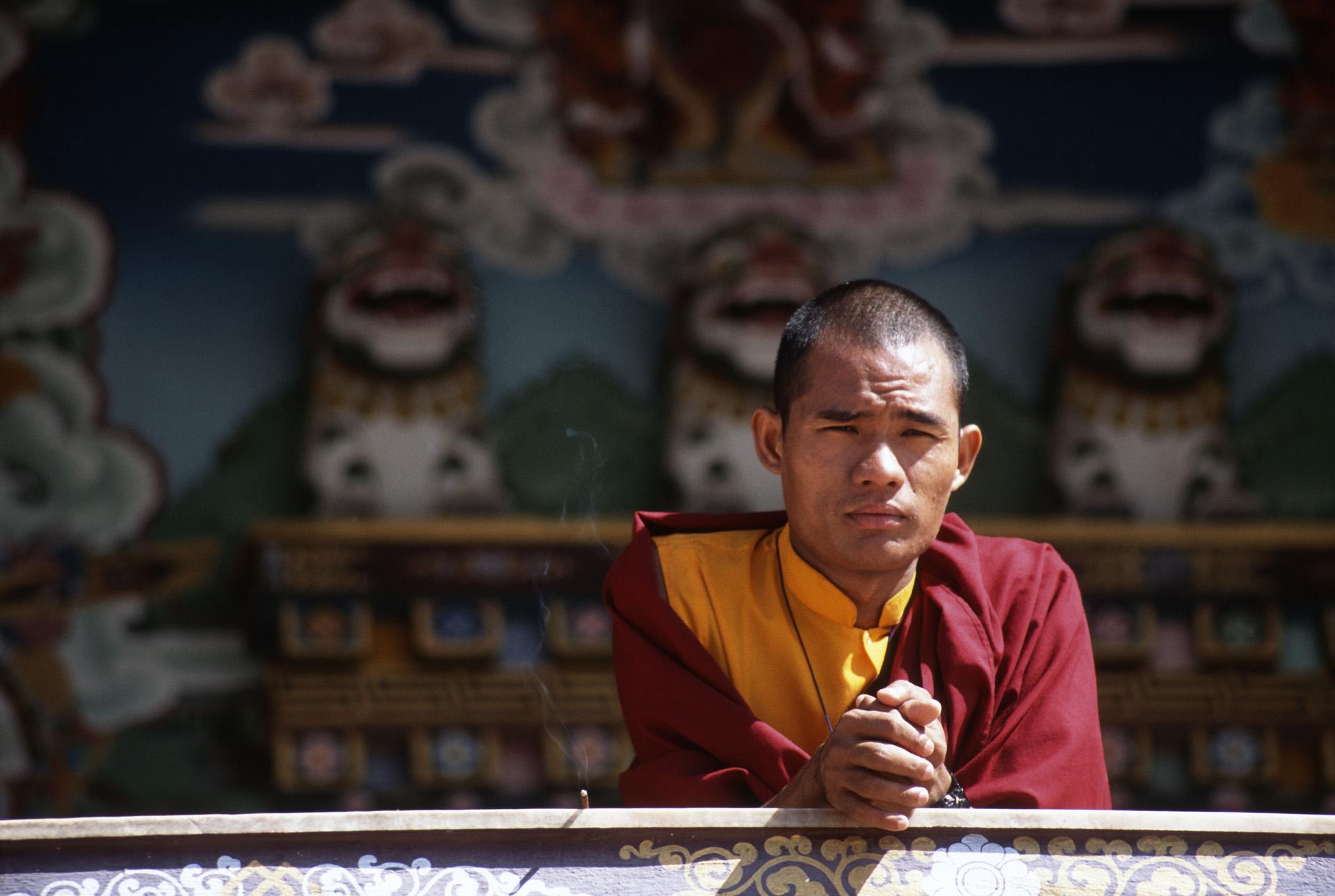 In the Tibetan part of Kathmandu