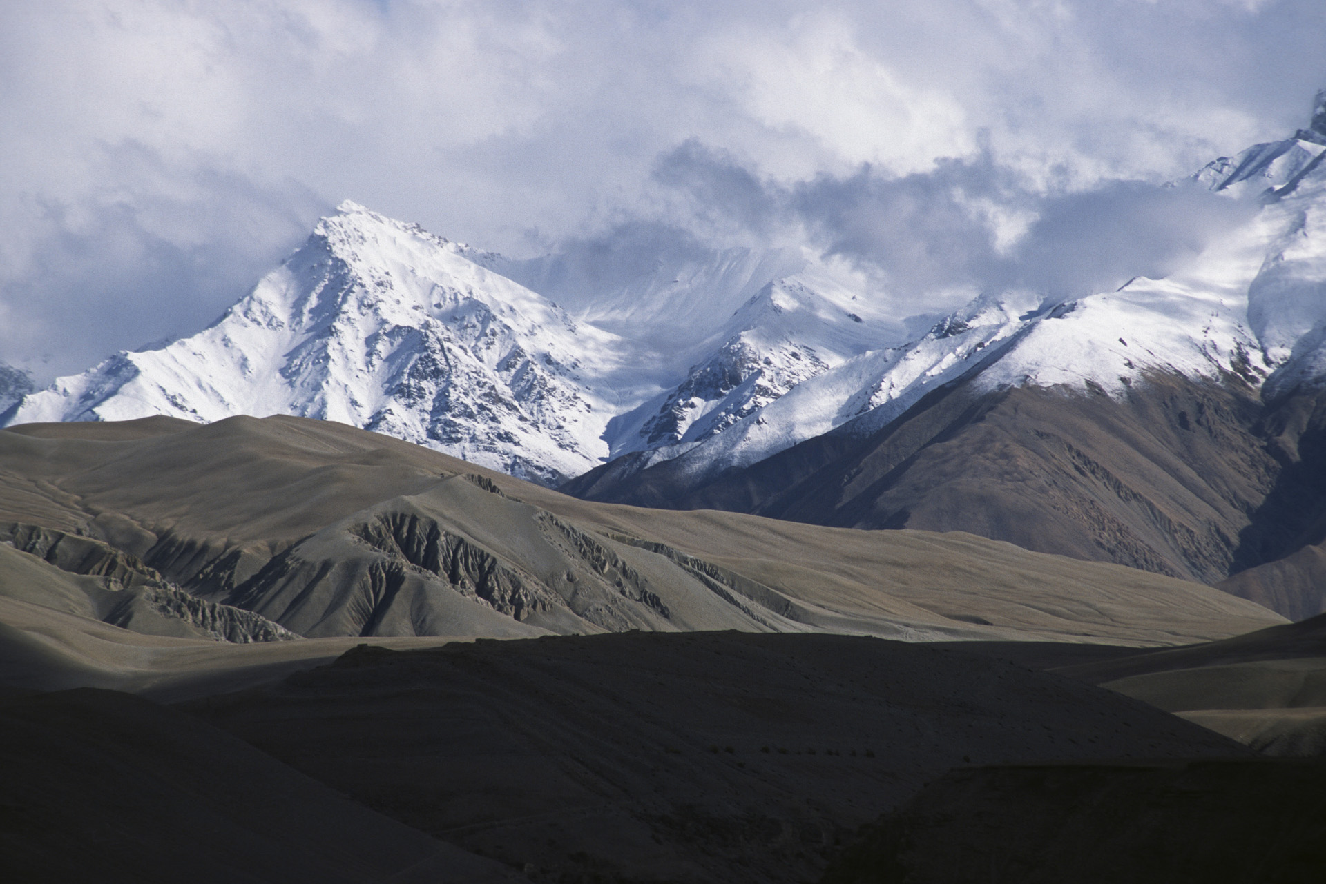 The Himalayas on the border of Nepal, India and China